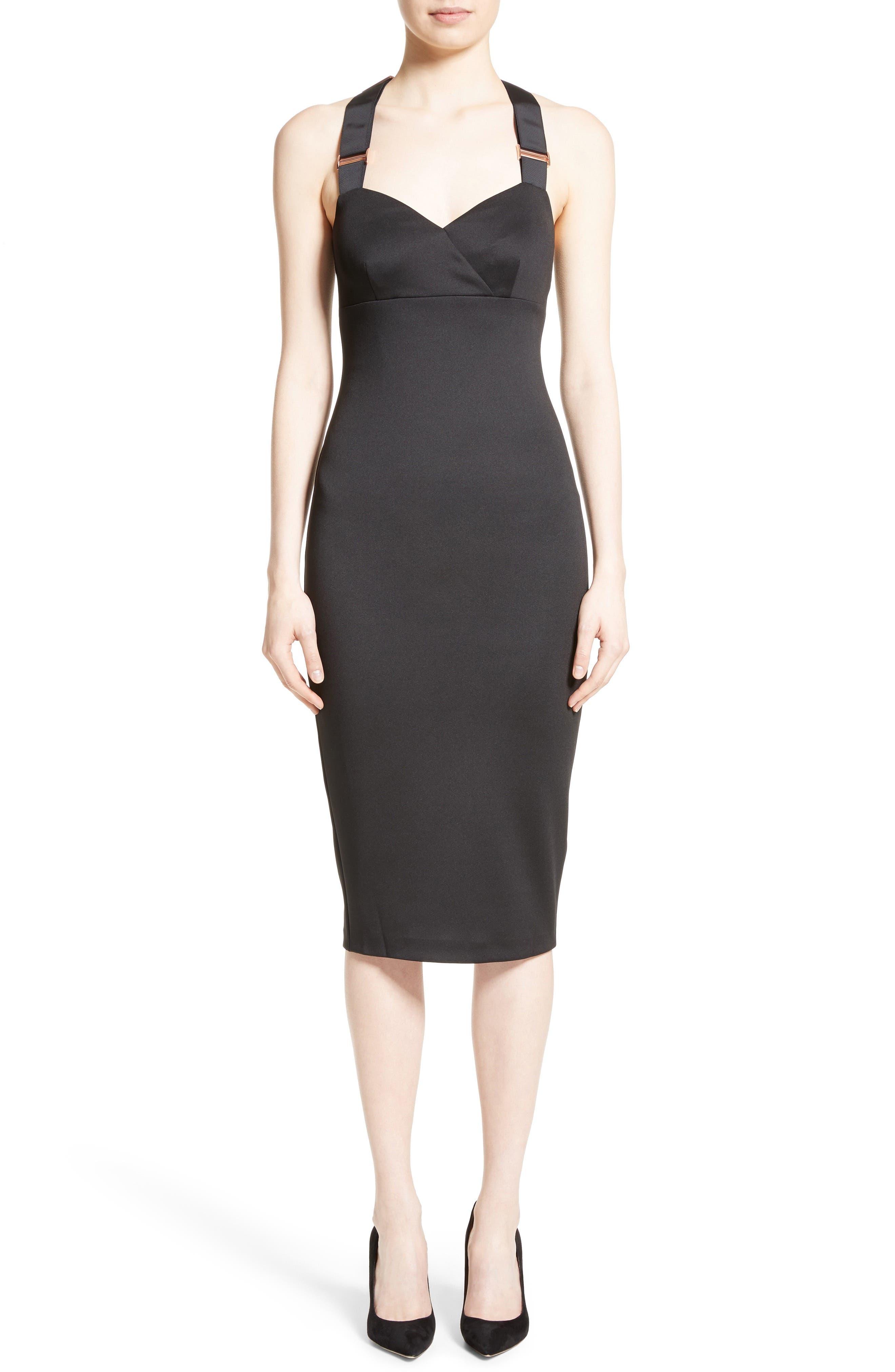 Main Image - Ted Baker London Akeltt Neoprene Sheath Dress