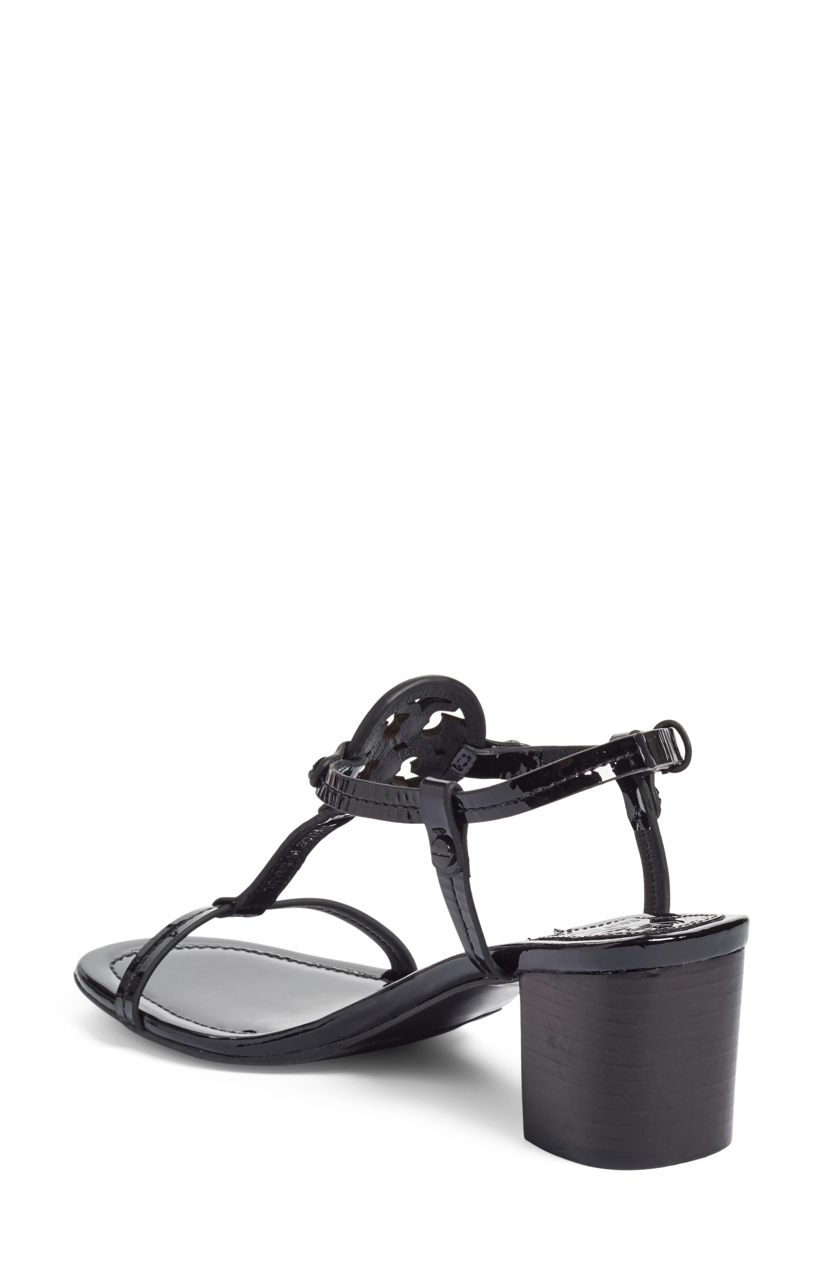 Alternate Image 2  - Tory Burch Miller Block Heel Sandal (Women)