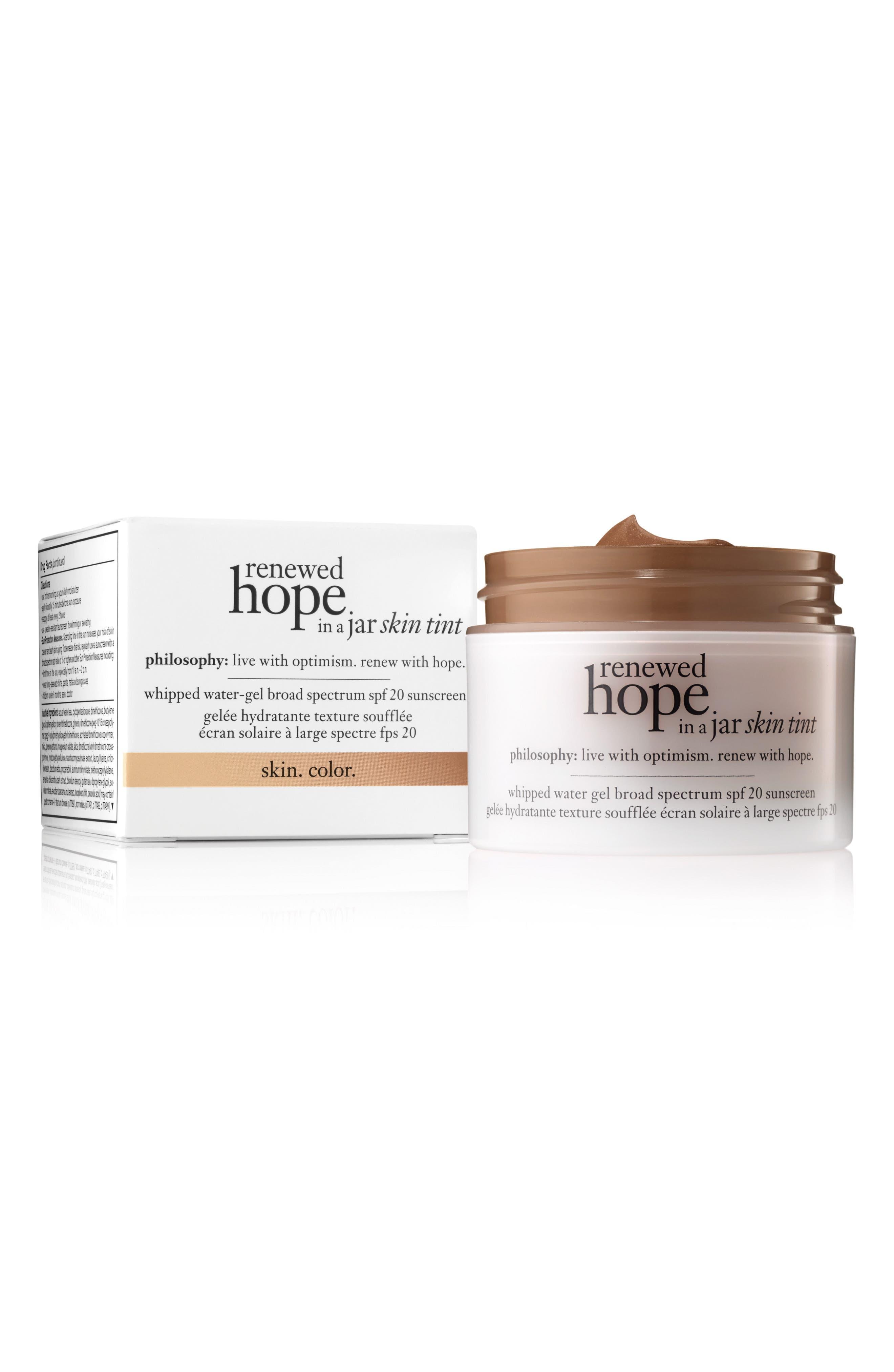 Alternate Image 1 Selected - philosophy renewed hope in a jar skin tint