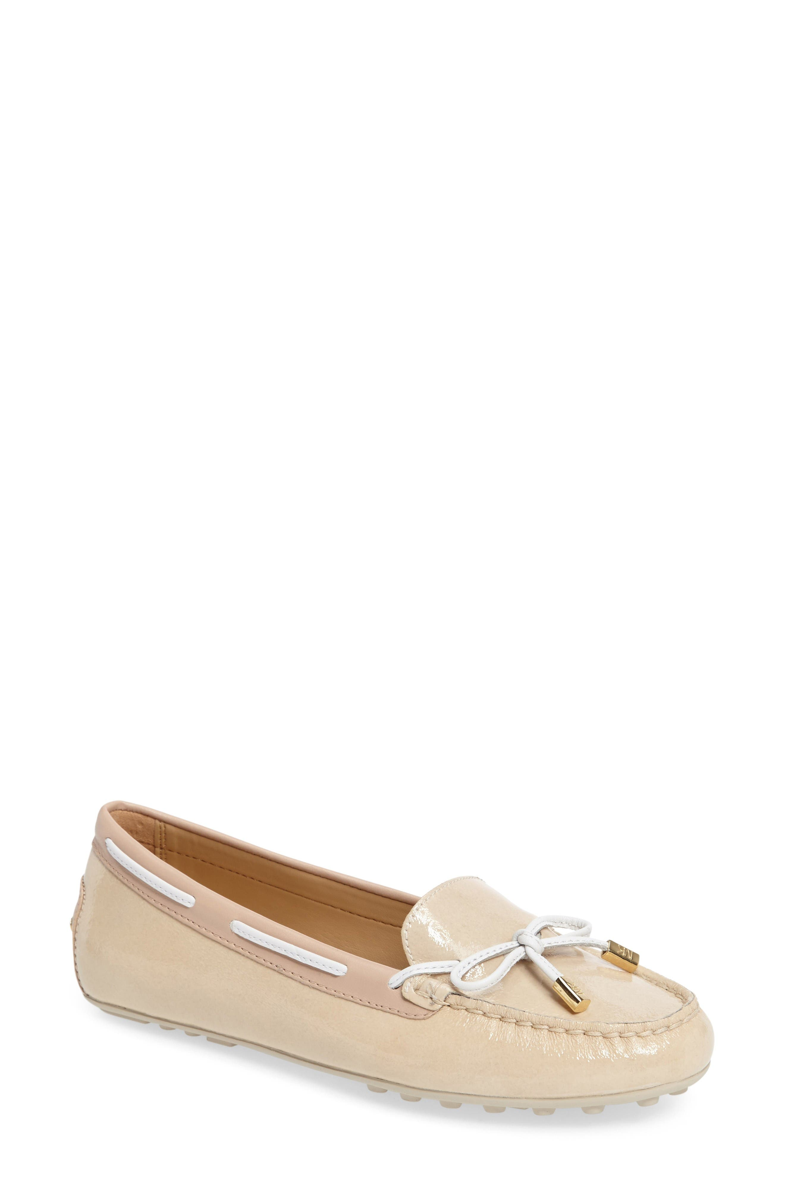 Womens Michael Kors Daisy Moc Navy Casual Shoes Z19537