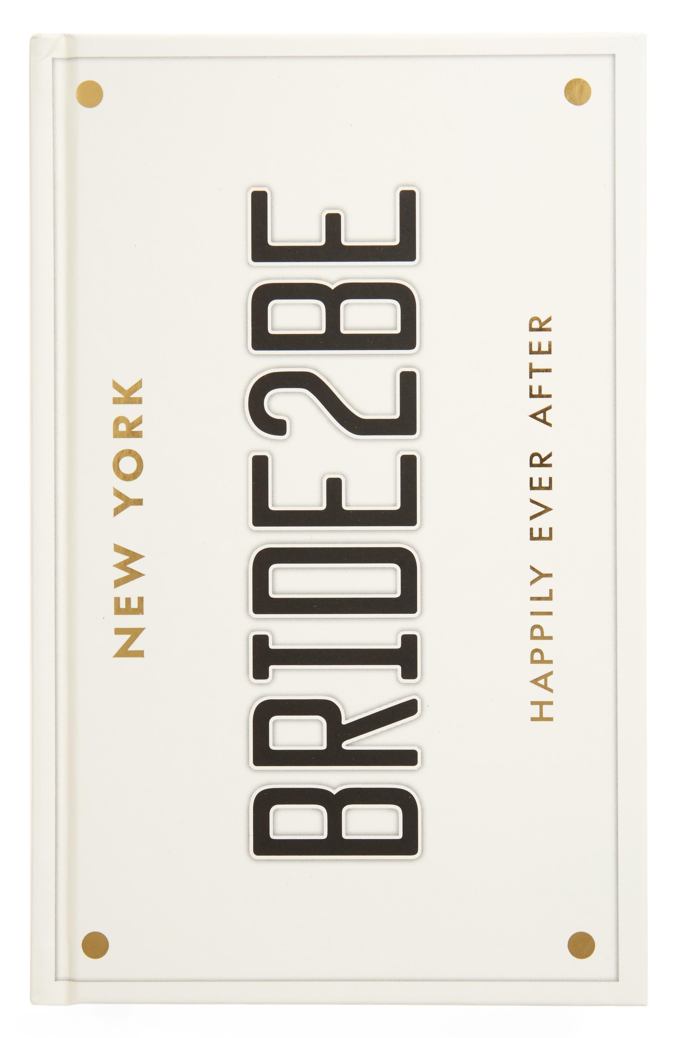 kate spade new york bridal notebook