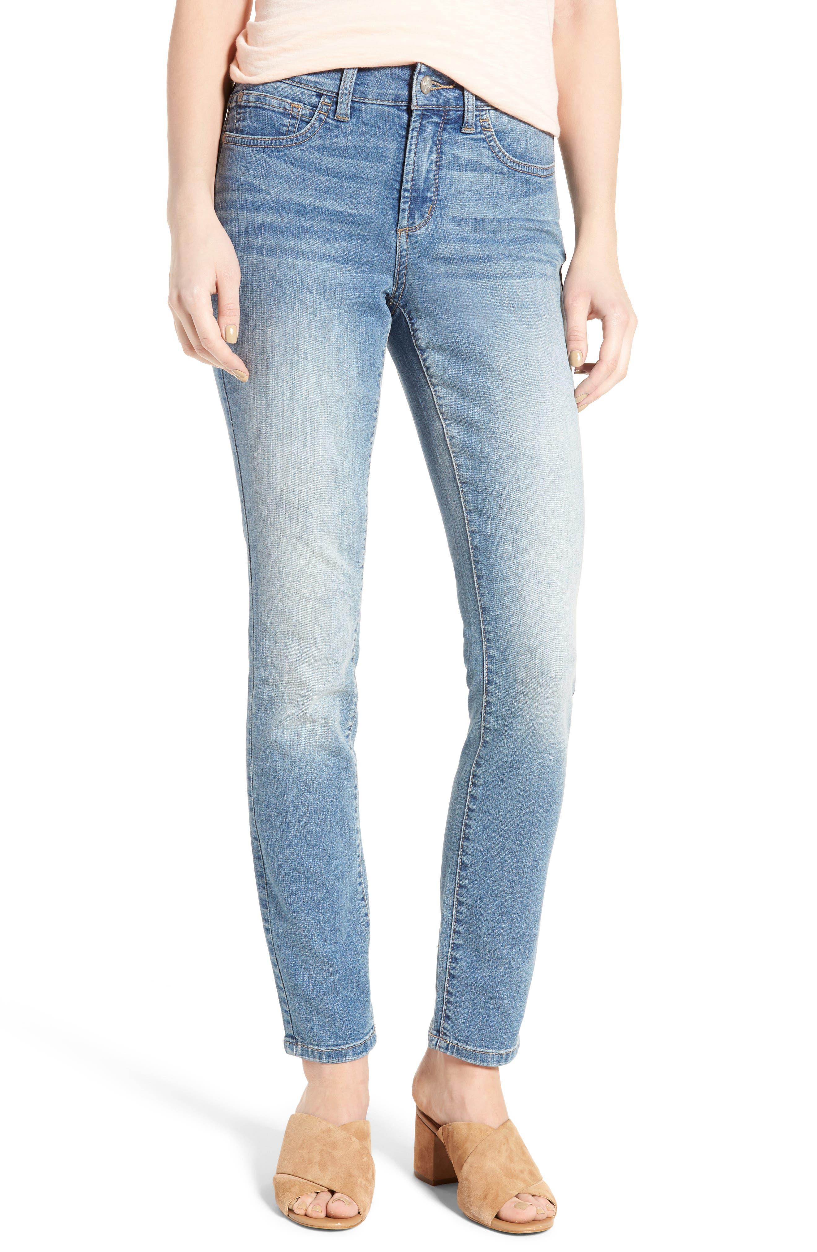 Alternate Image 1 Selected - NYDJ Alina Skinny Jeans (Oxford)