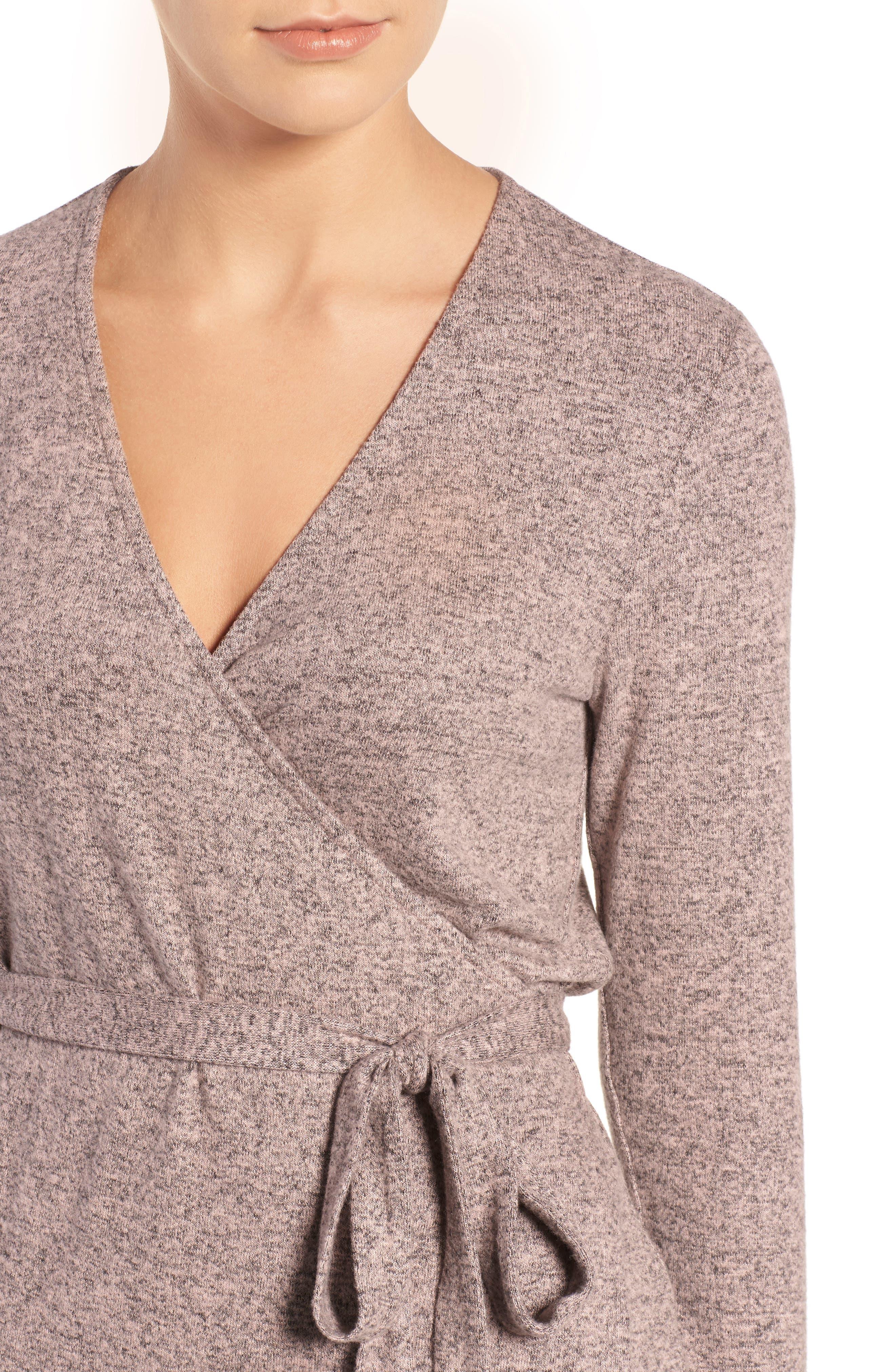 Alternate Image 4  - Trouvé Wrap Sweater