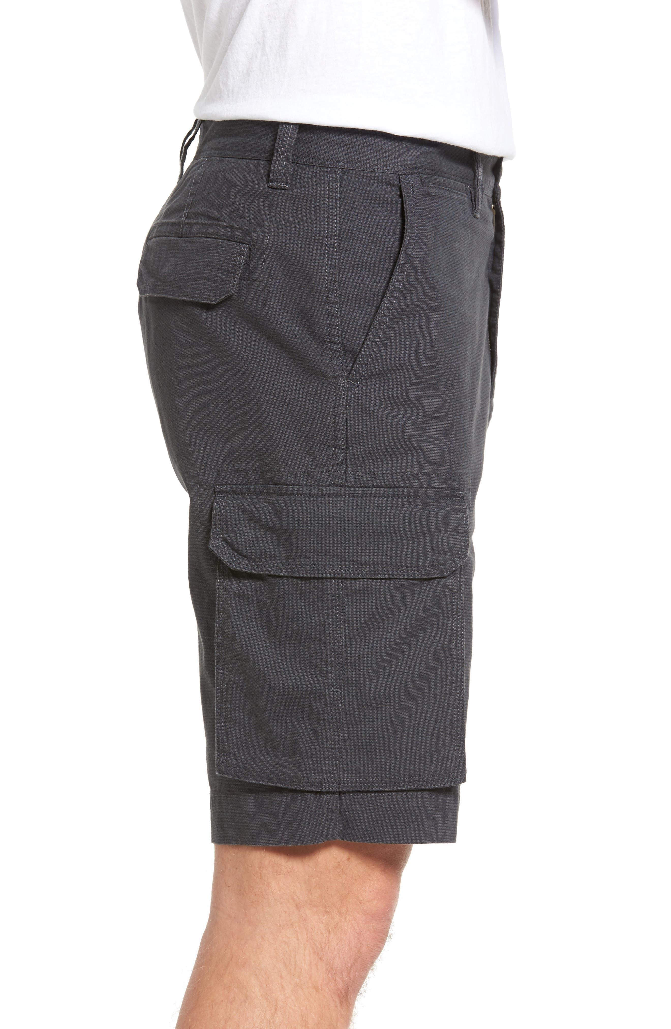 Ludstone Cargo Shorts,                             Alternate thumbnail 3, color,                             Blue Graphite