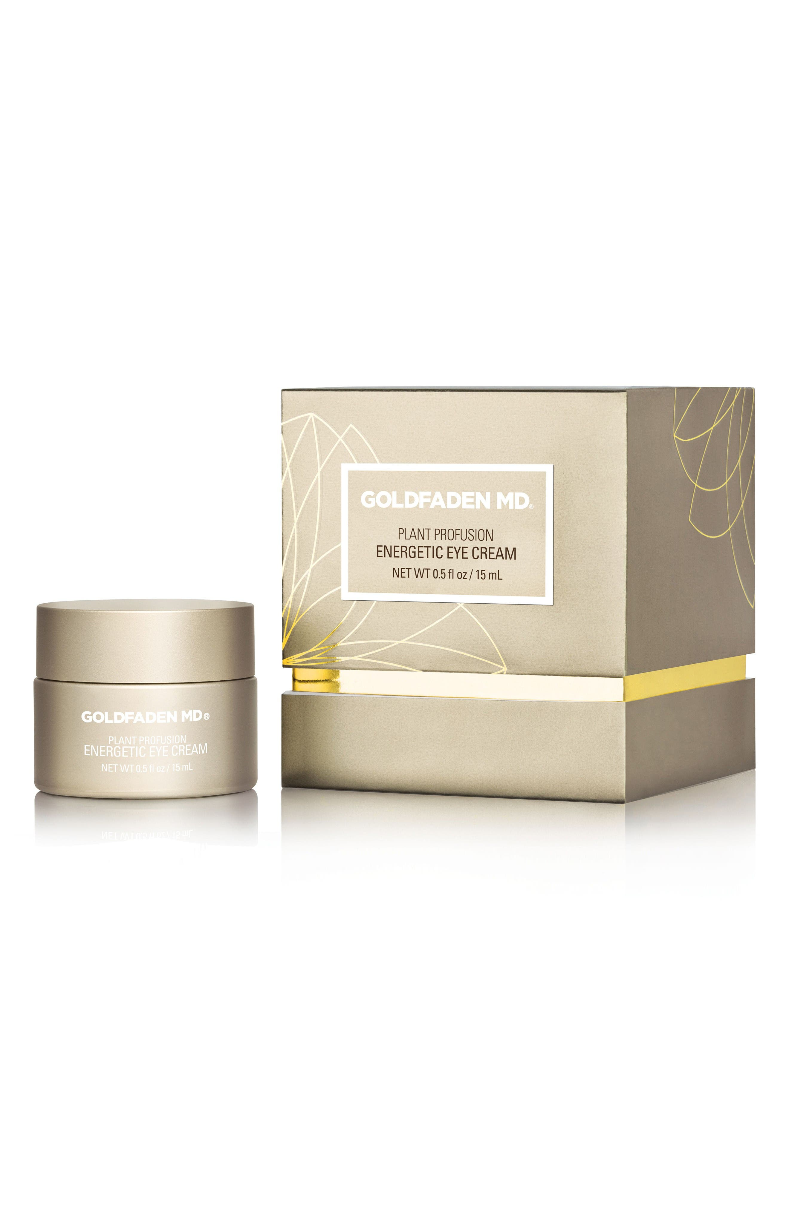 Alternate Image 1 Selected - SPACE.NK.apothecary Goldfaden MD Plant Profusion Energetic Eye Cream