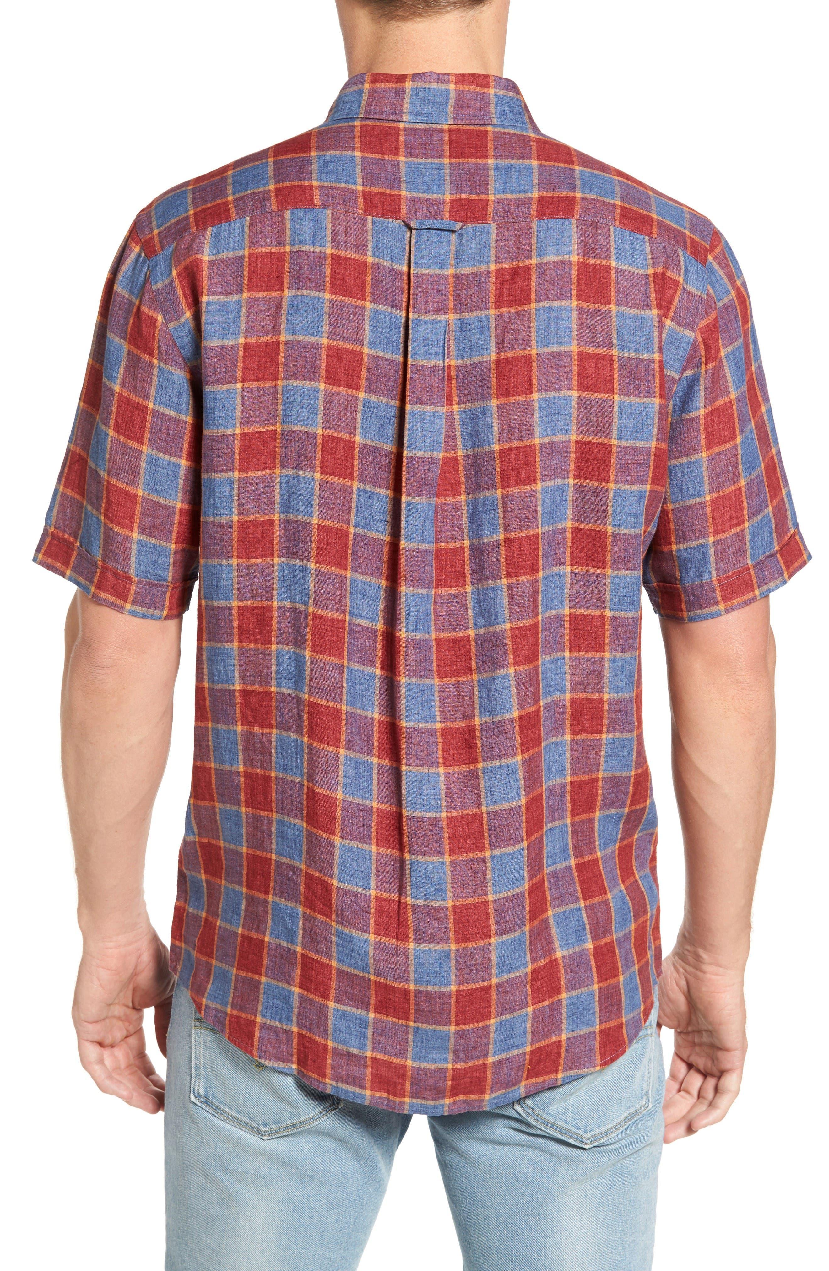 Alternate Image 2  - Rodd & Gunn Mason Avenue Linen Sport Shirt