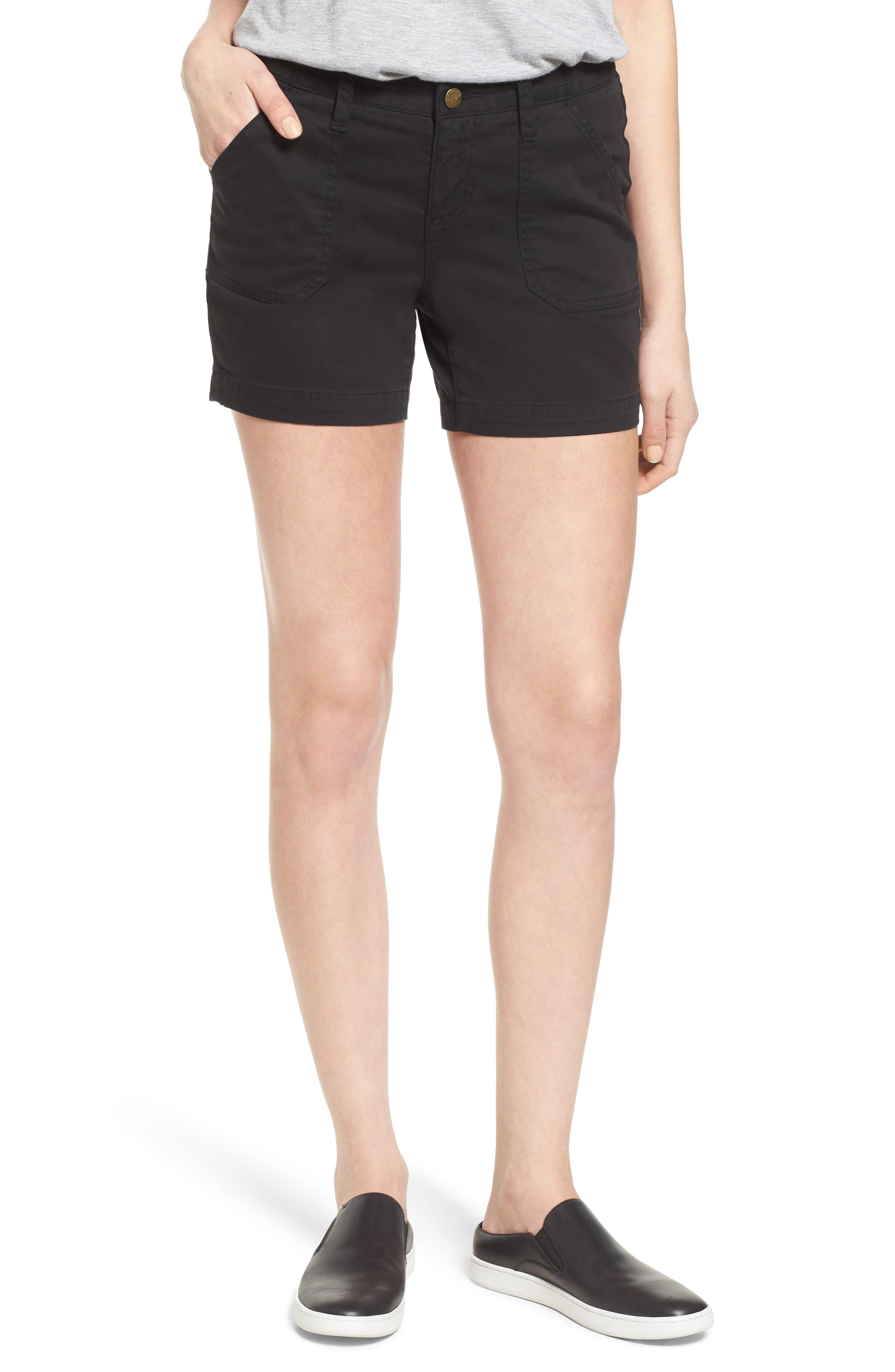 black shorts womens