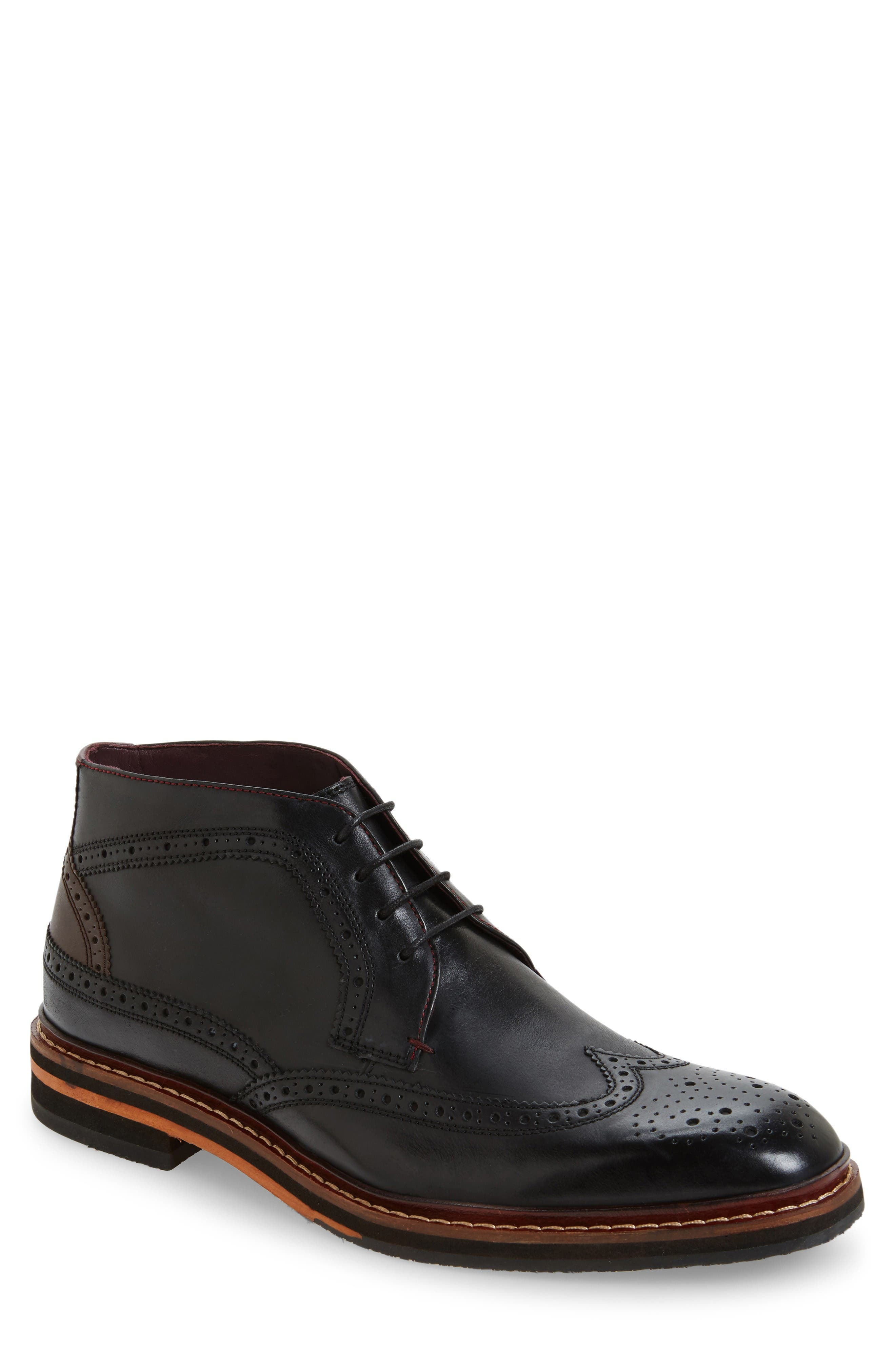 Alternate Image 1 Selected - Ted Baker London Cinika Wingtip Chukka Boot (Men)