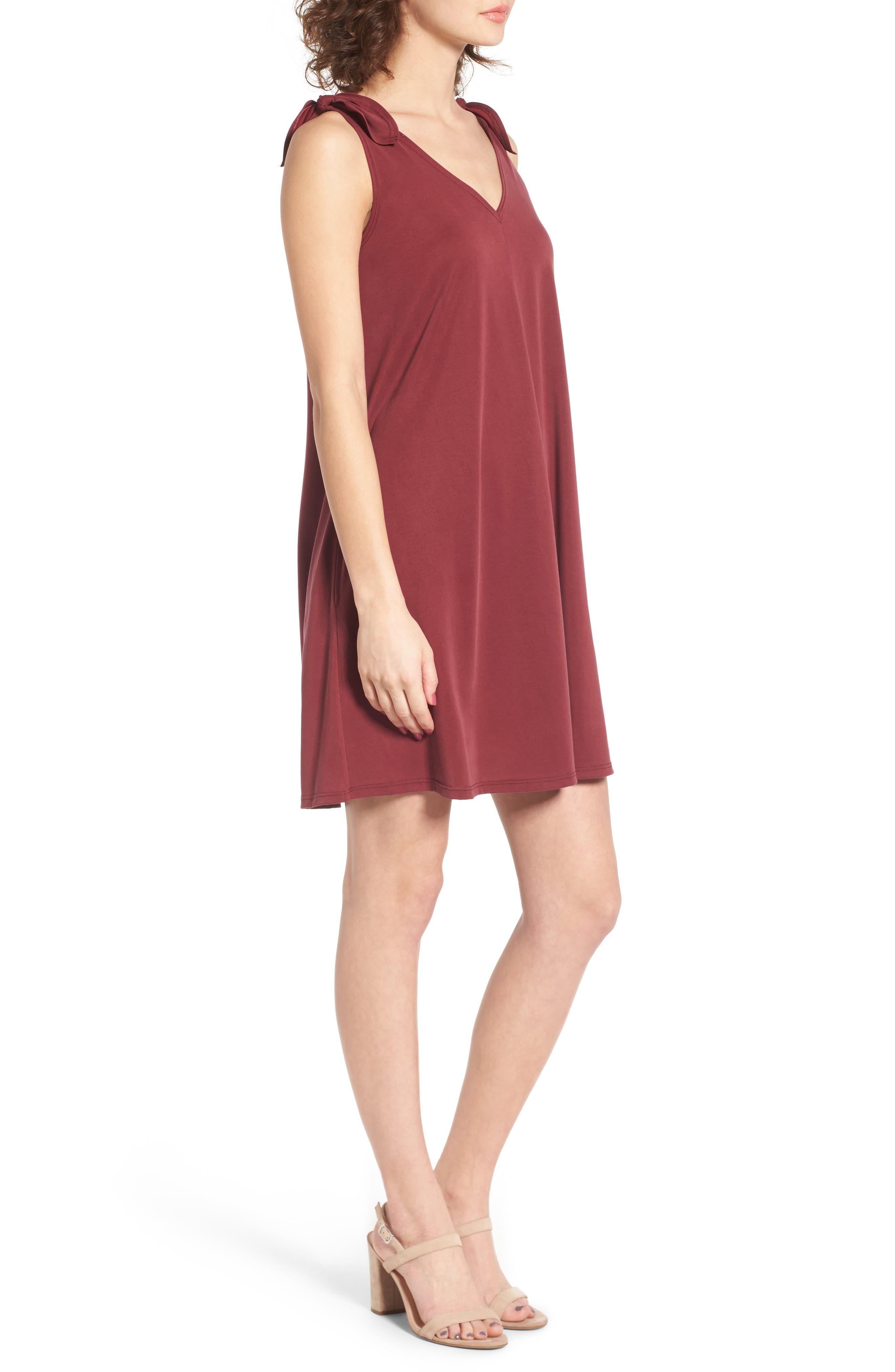Alternate Image 3  - Soprano Shoulder Tie Dress