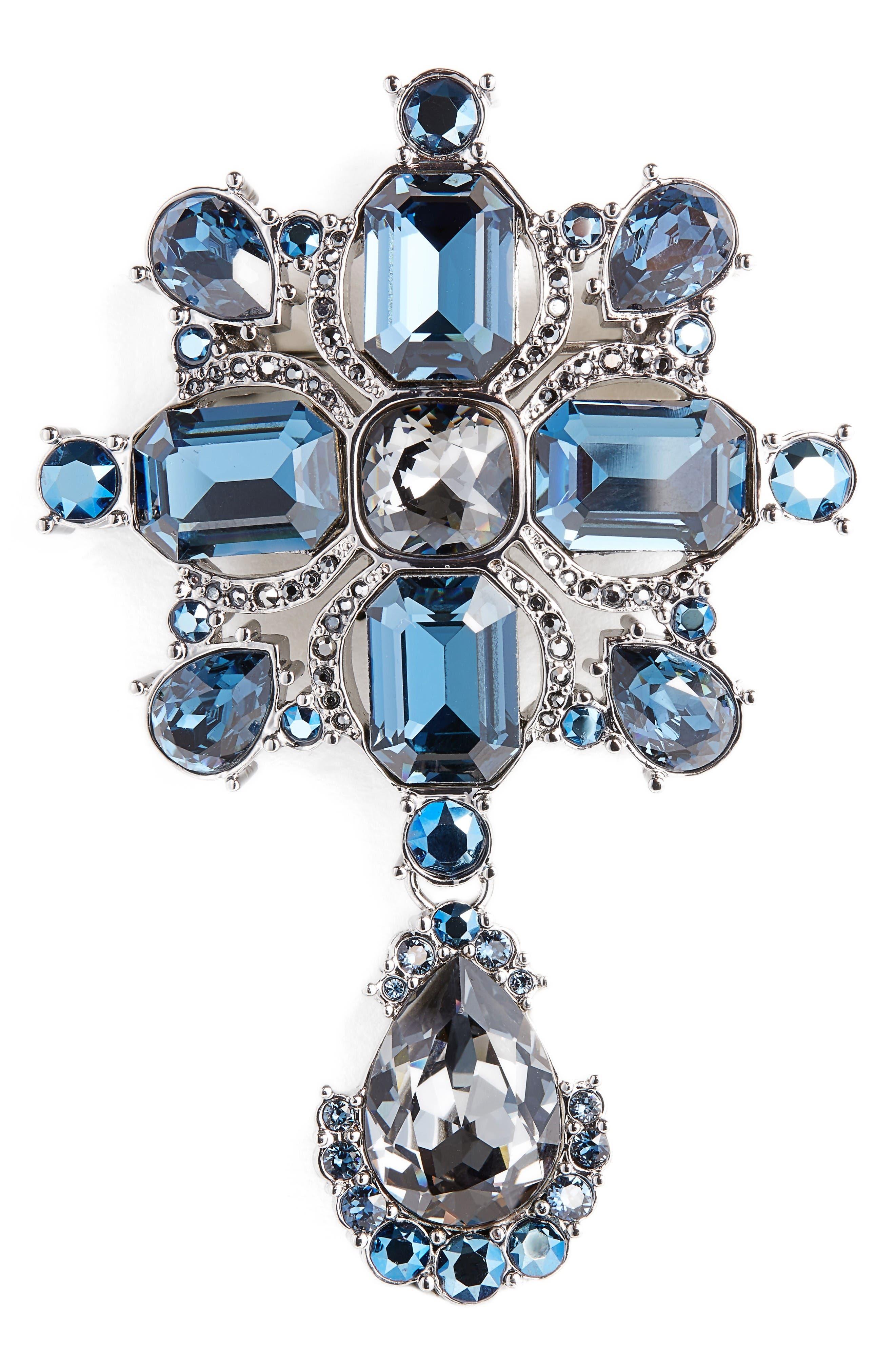 St. John Collection Swarovski Crystal Pin