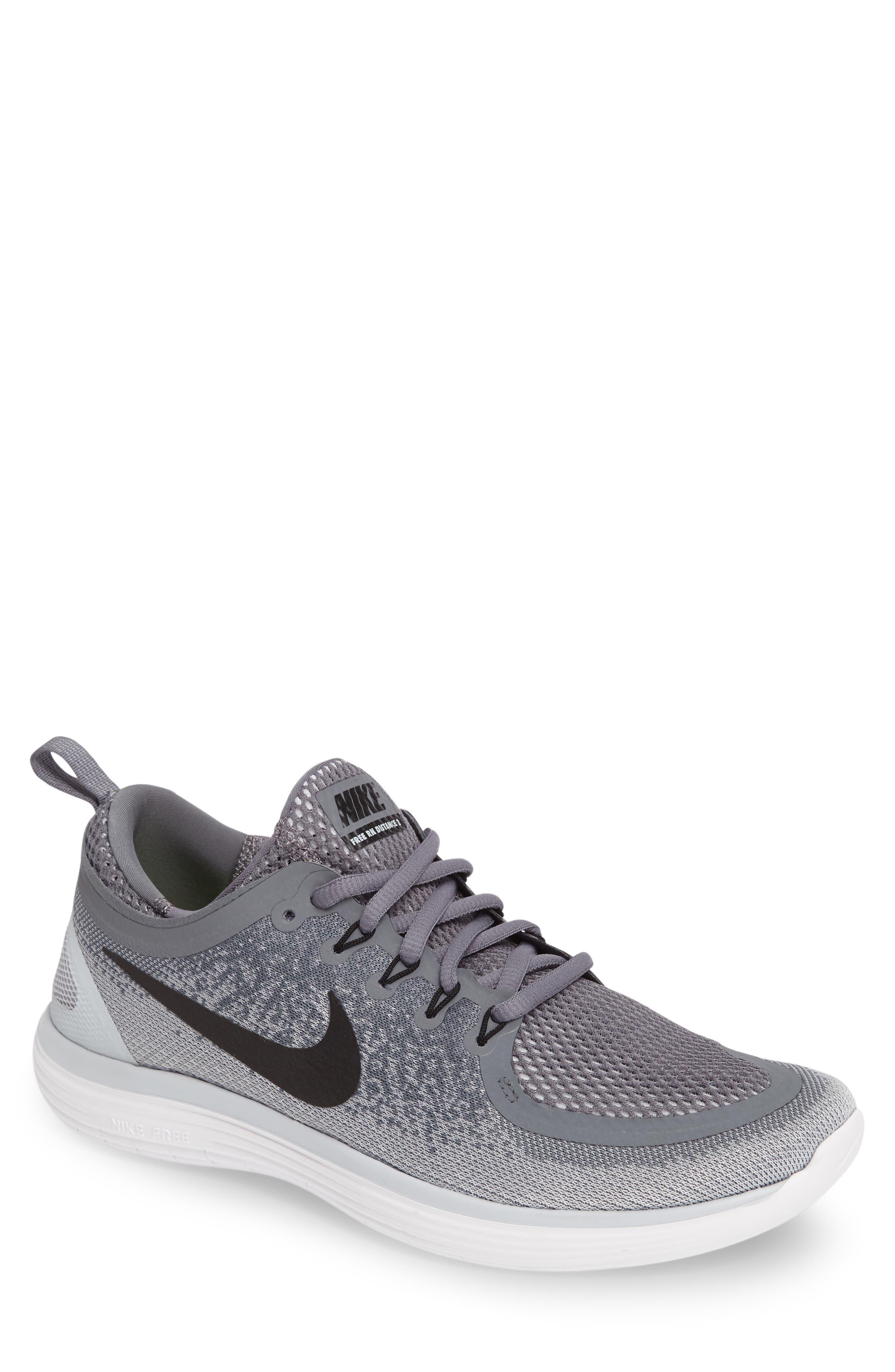 Main Image - Nike Free RN Distance 2 Running Shoe (Men)
