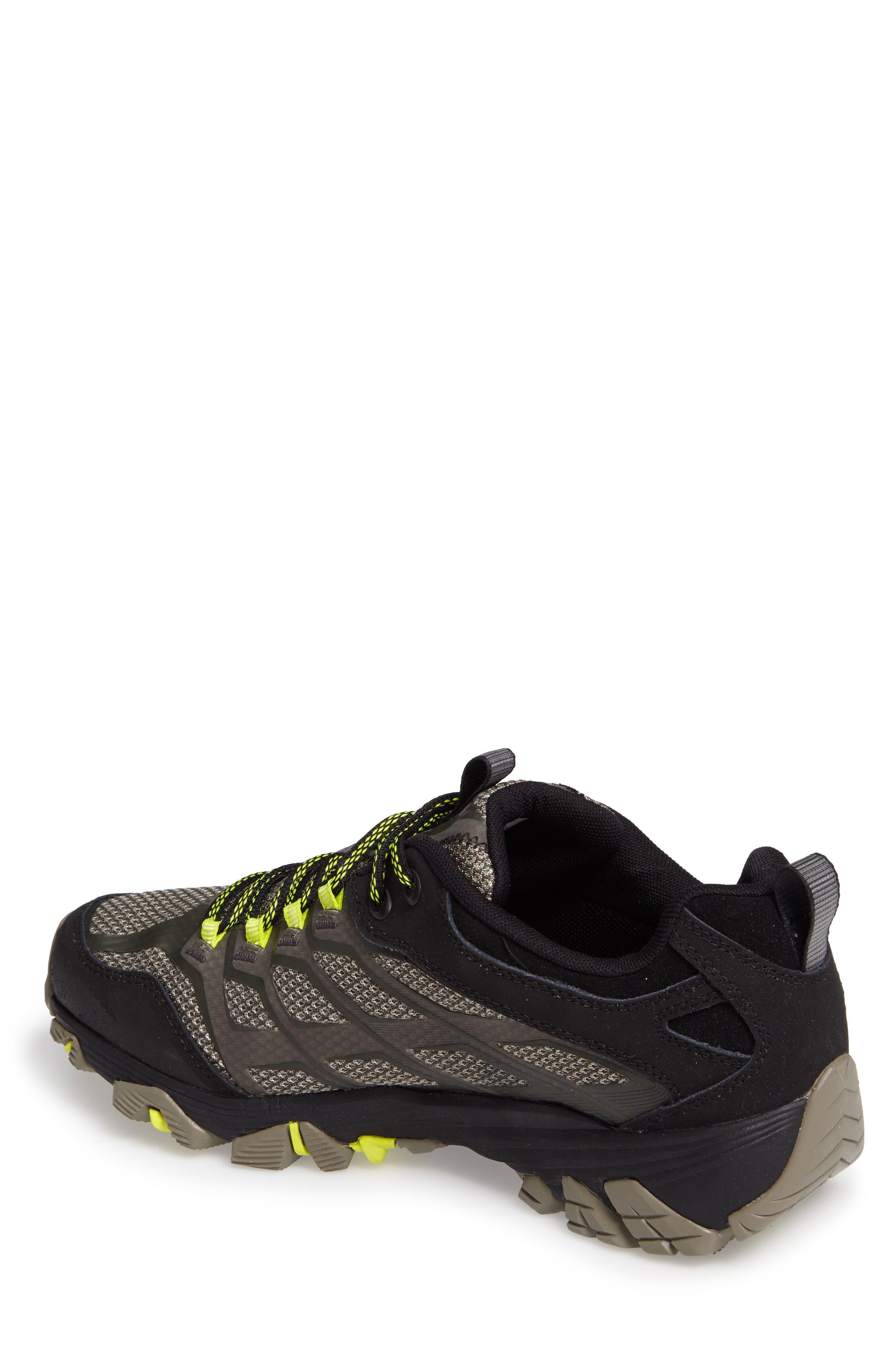 Alternate Image 2  - Merrell Moab FST Waterproof Hiking Shoe (Men)