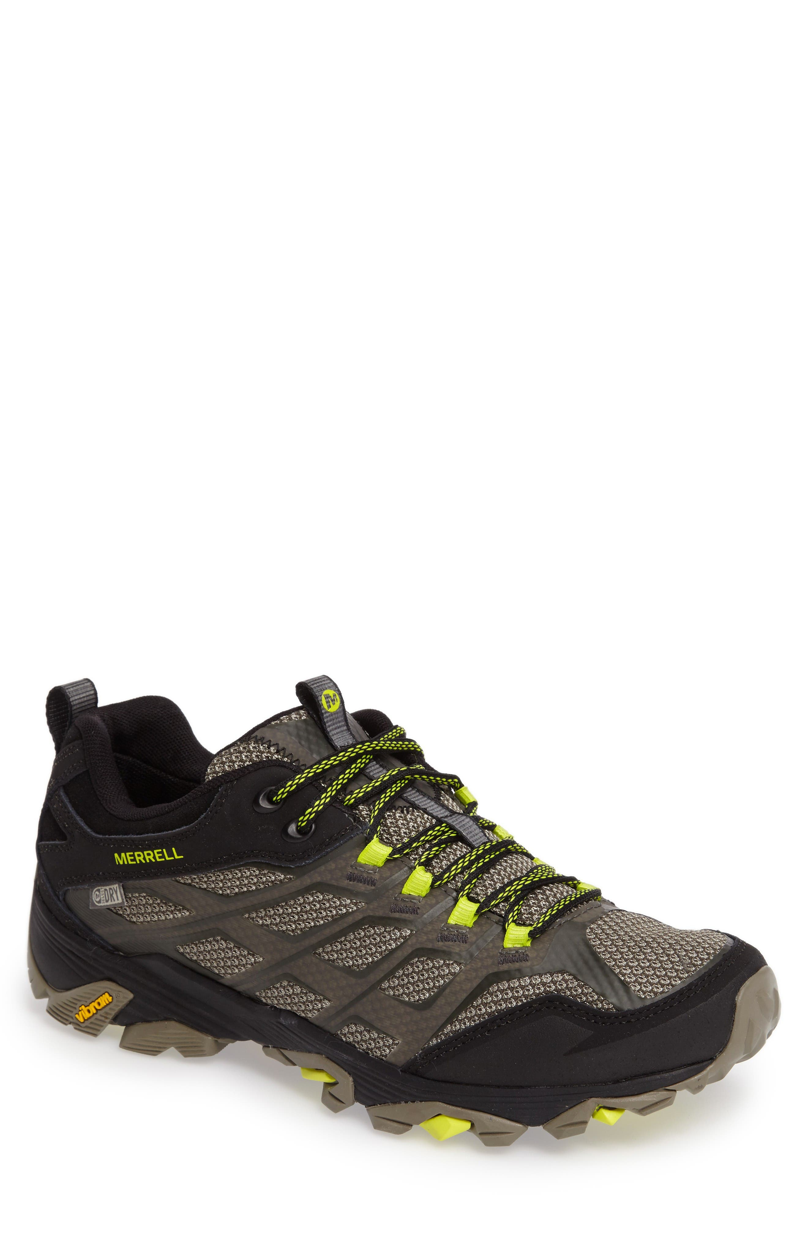 Alternate Image 1 Selected - Merrell Moab FST Waterproof Hiking Shoe (Men)