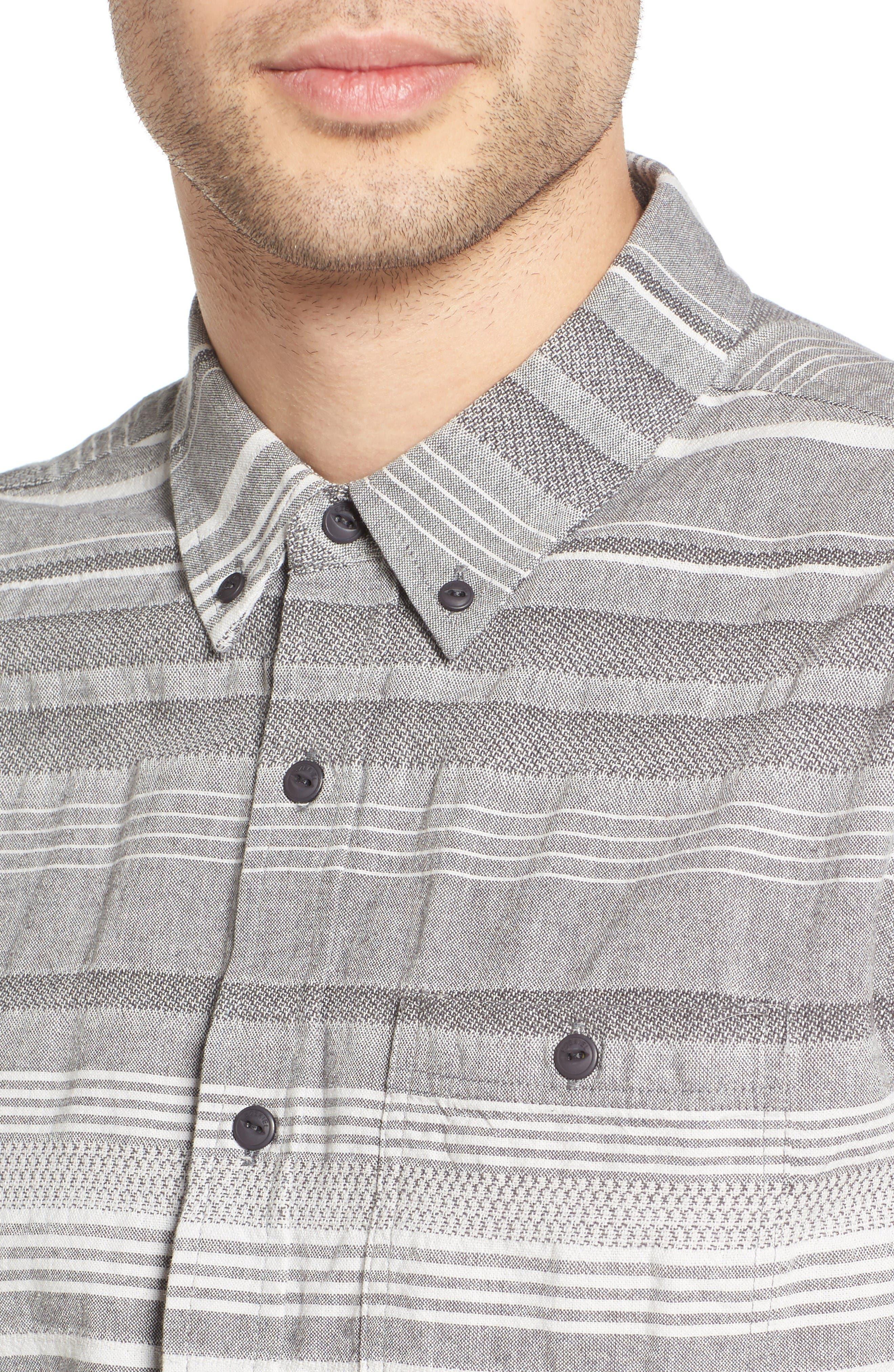 Alternate Image 4  - Ezekiel Striped Woven Shirt