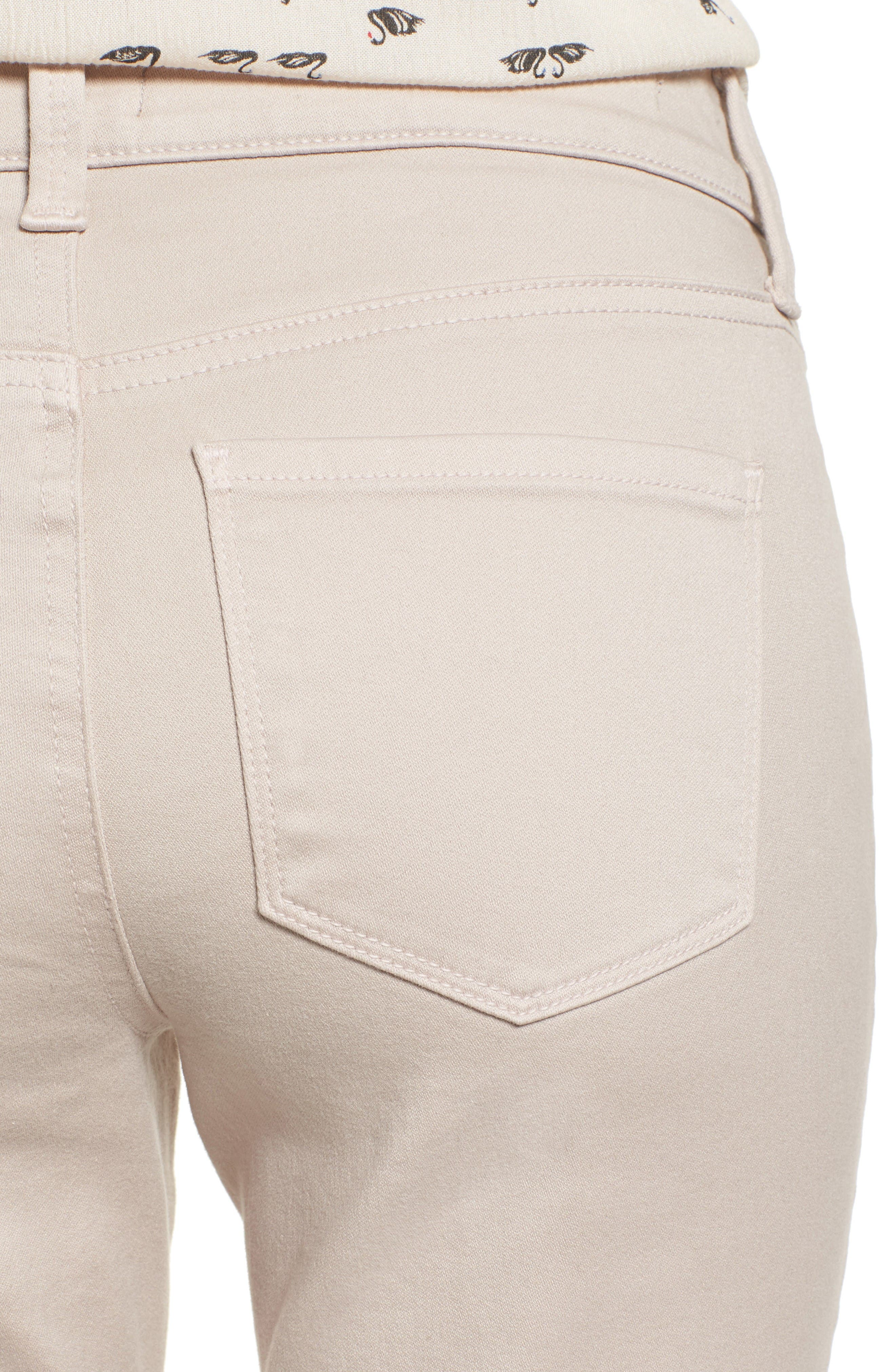 Alternate Image 4  - NYDJ Alina Colored Stretch Skinny Jeans (Regular & Petite)