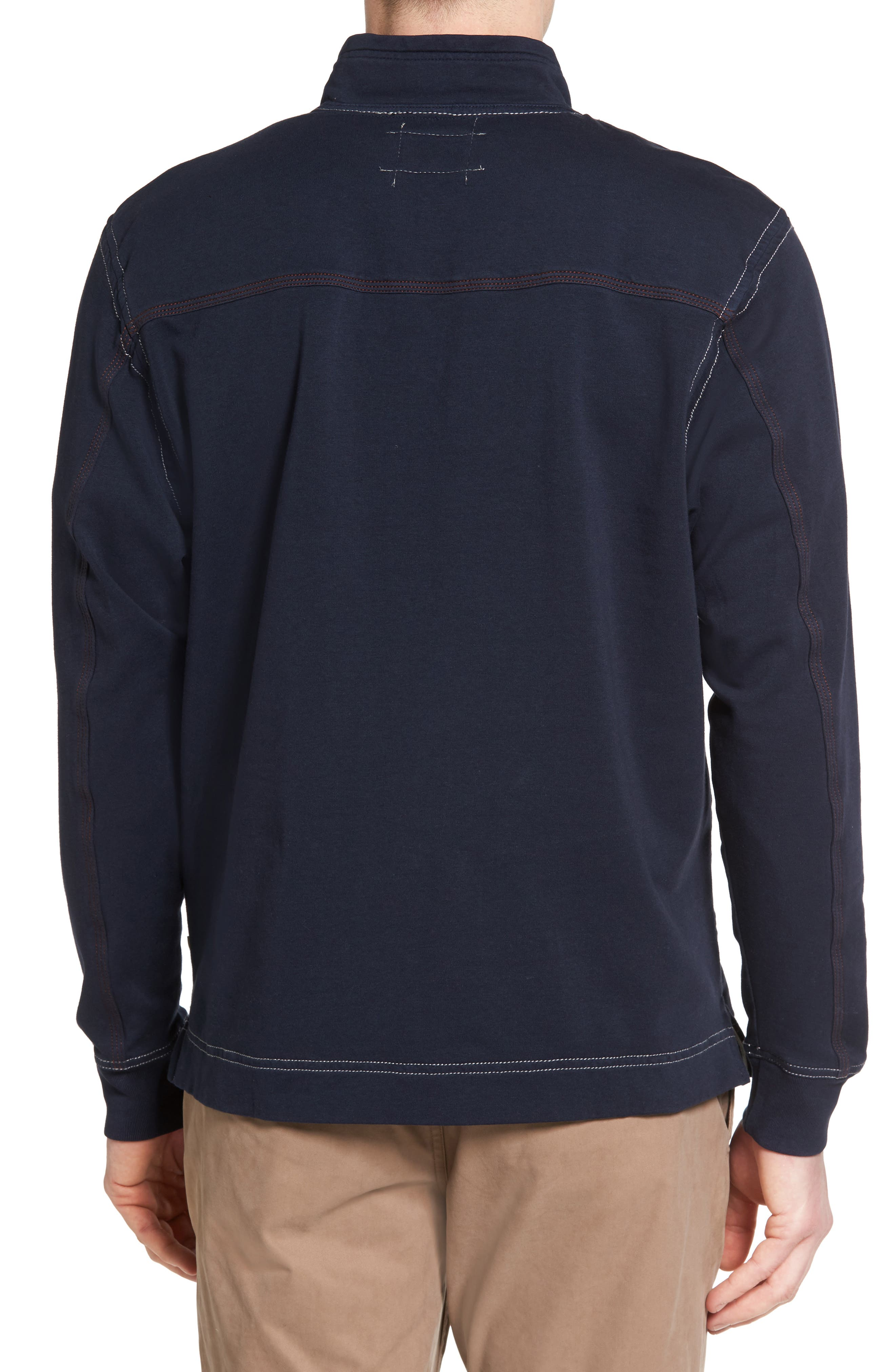 Alternate Image 2  - True Grit Half Zip Pullover