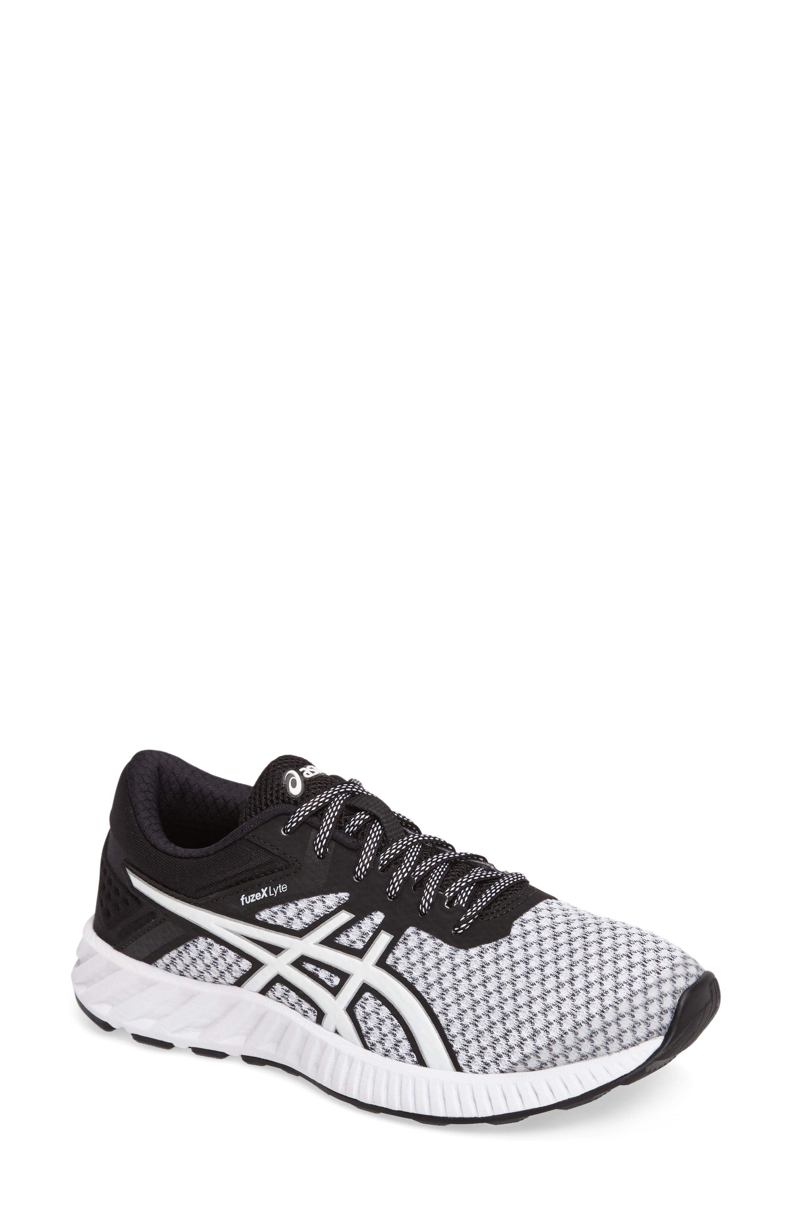 FuzeX Lyte 2 Running Shoe,                             Main thumbnail 1, color,                             White/ Black/ Silver
