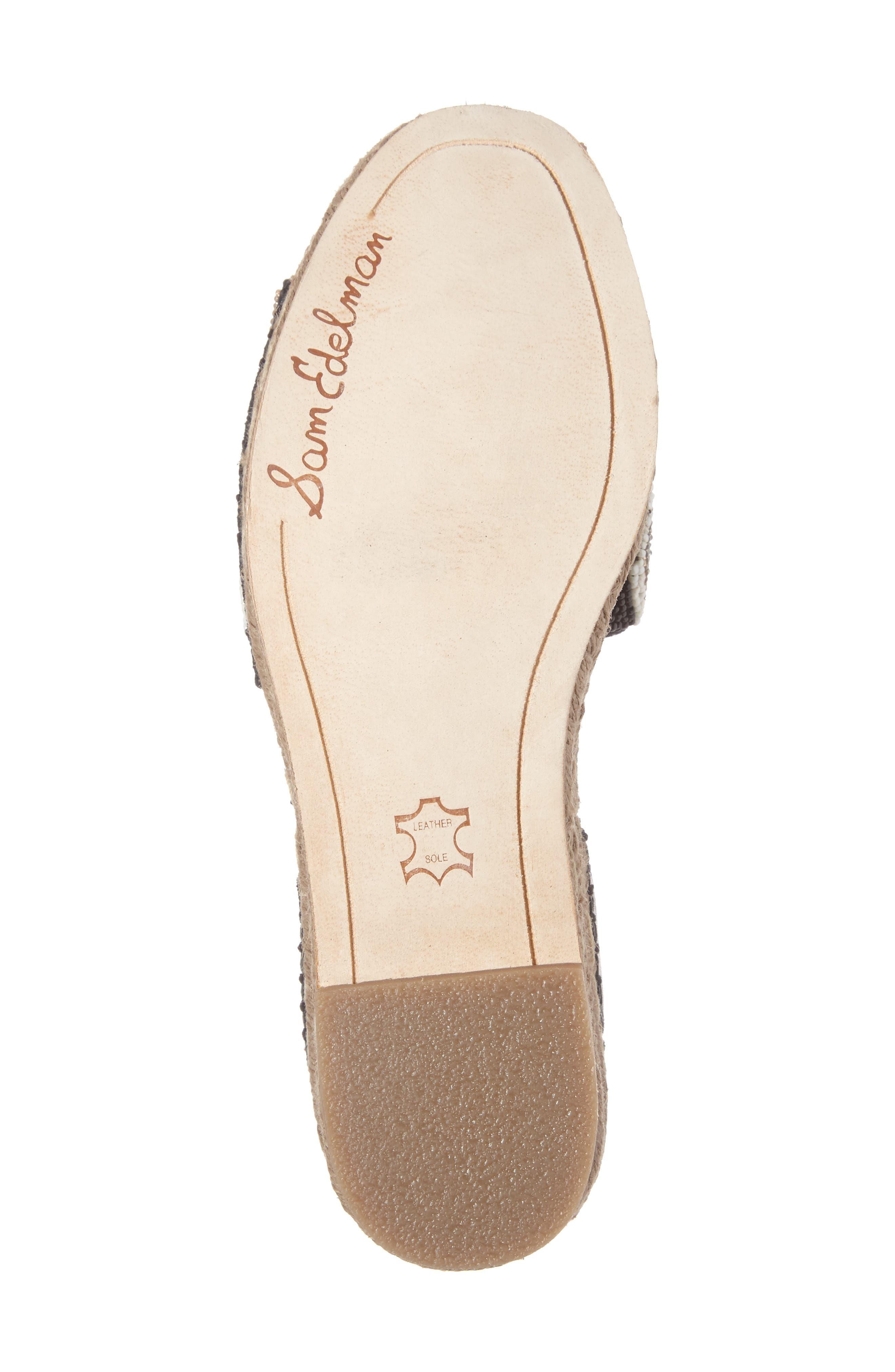 Alternate Image 4  - Sam Edelman Neera Espadrille Platform Sandal (Women)
