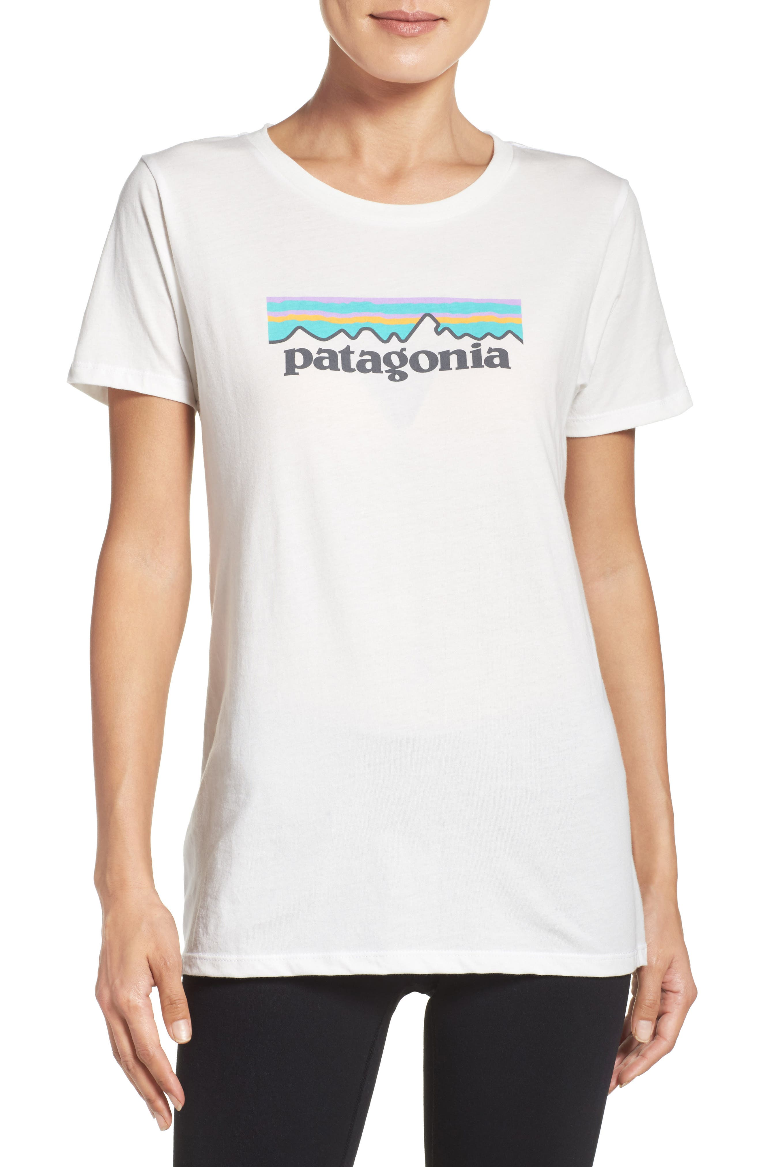 P-6 Organic Cotton Tee,                         Main,                         color, White