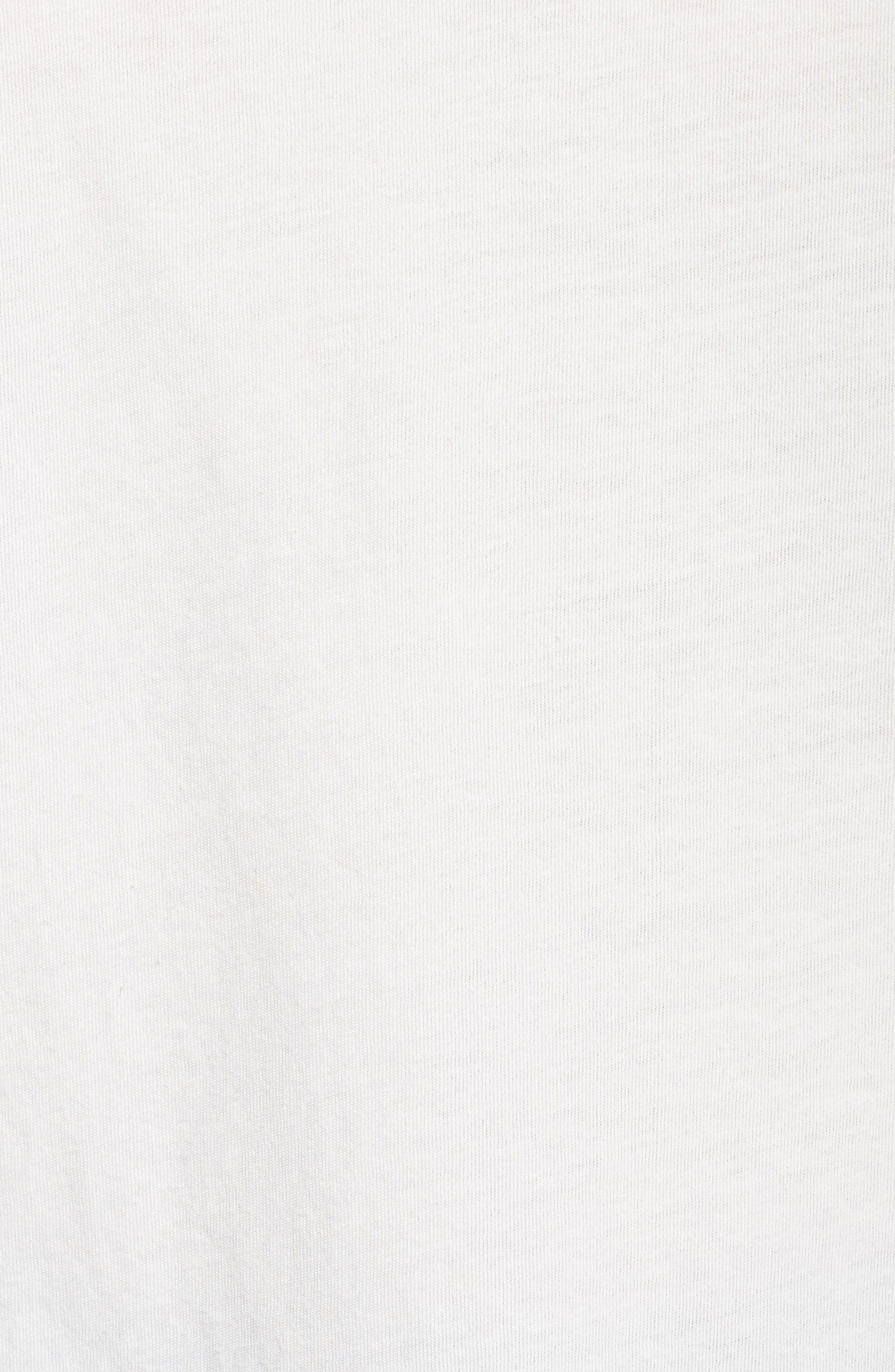 P-6 Organic Cotton Tee,                             Alternate thumbnail 6, color,                             White