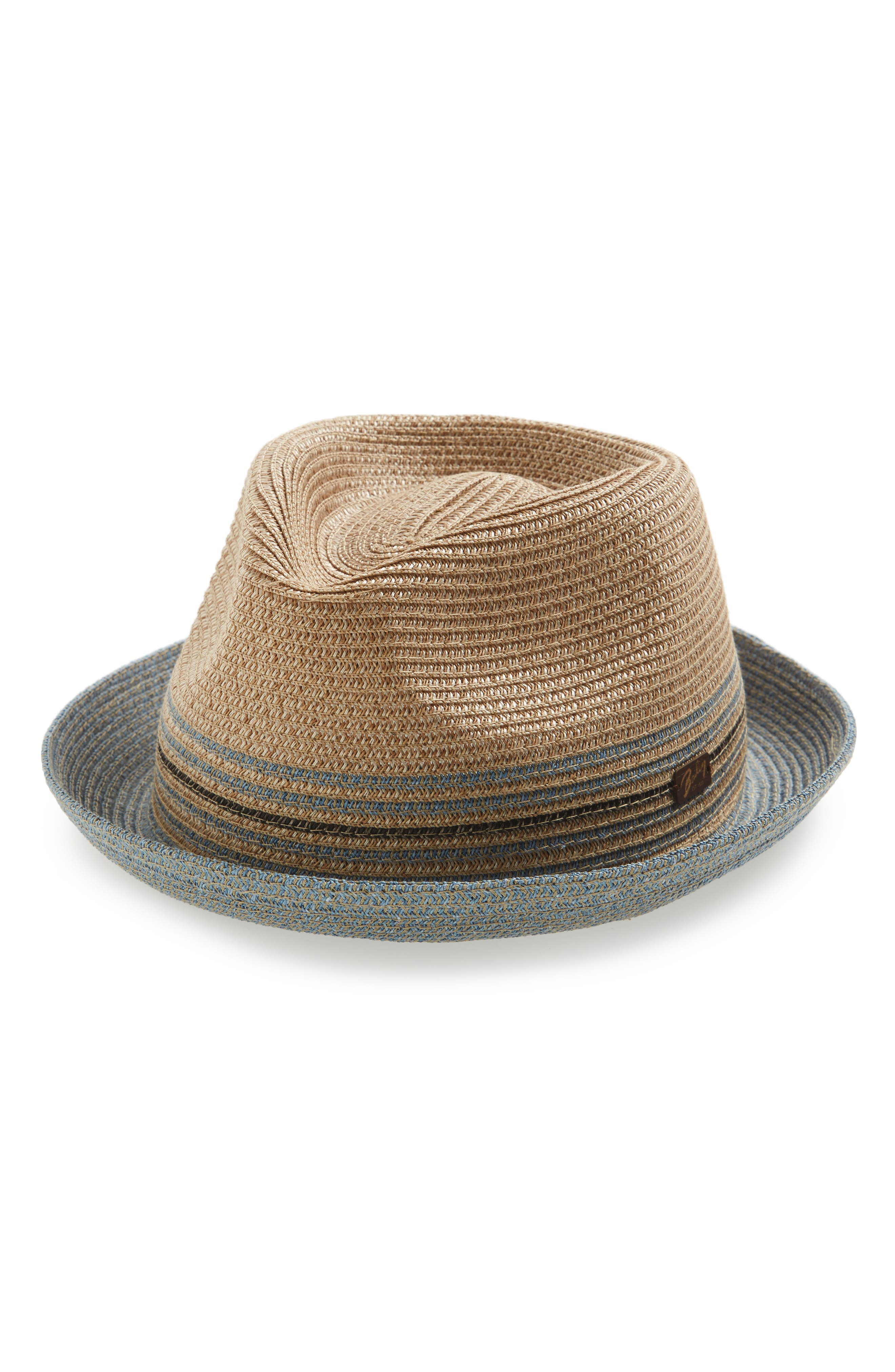 Alternate Image 1 Selected - Bailey Hooper Paper Straw Trilby