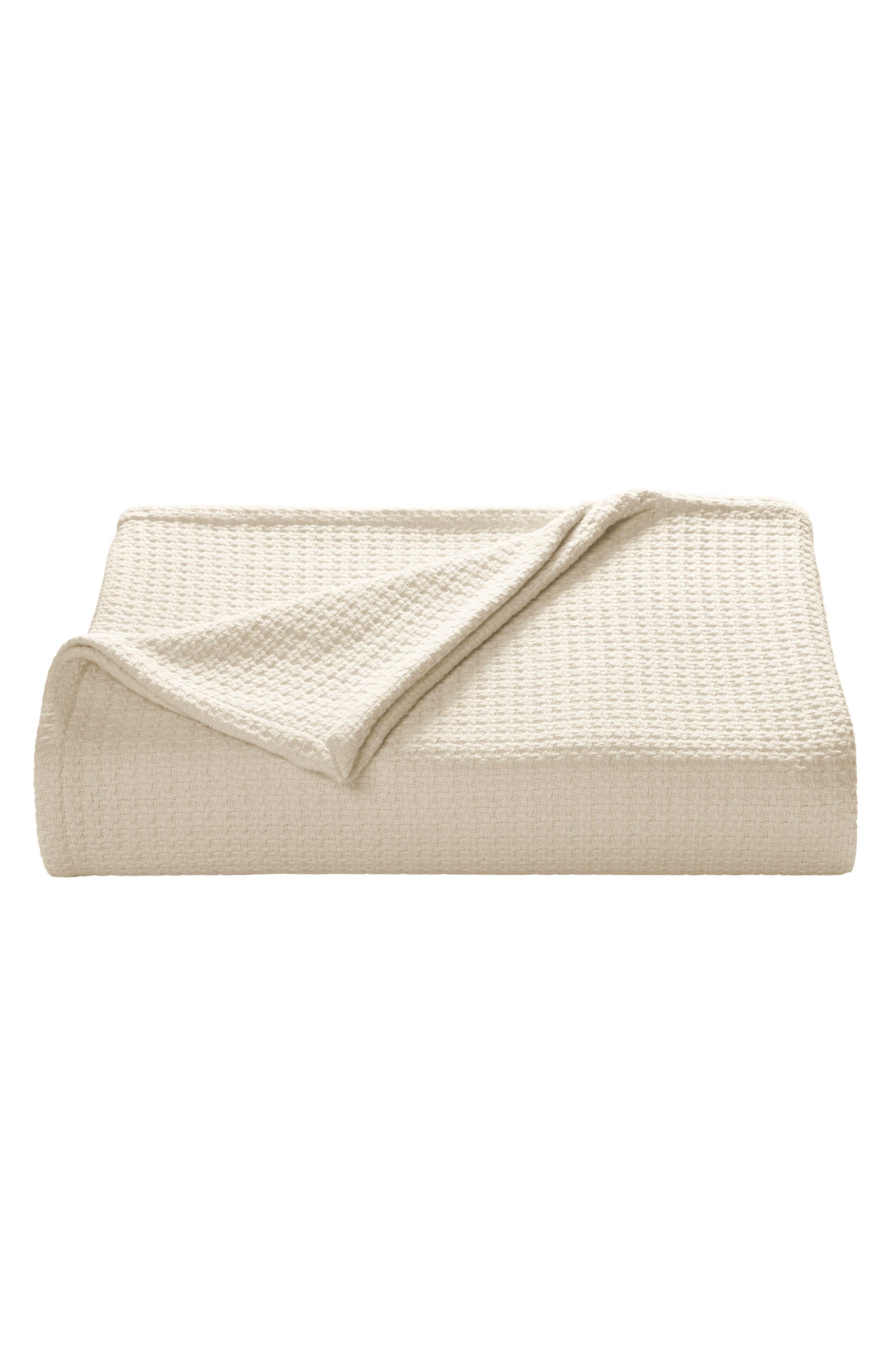 Bahama Coast Cotton Blanket,                         Main,                         color, Natural