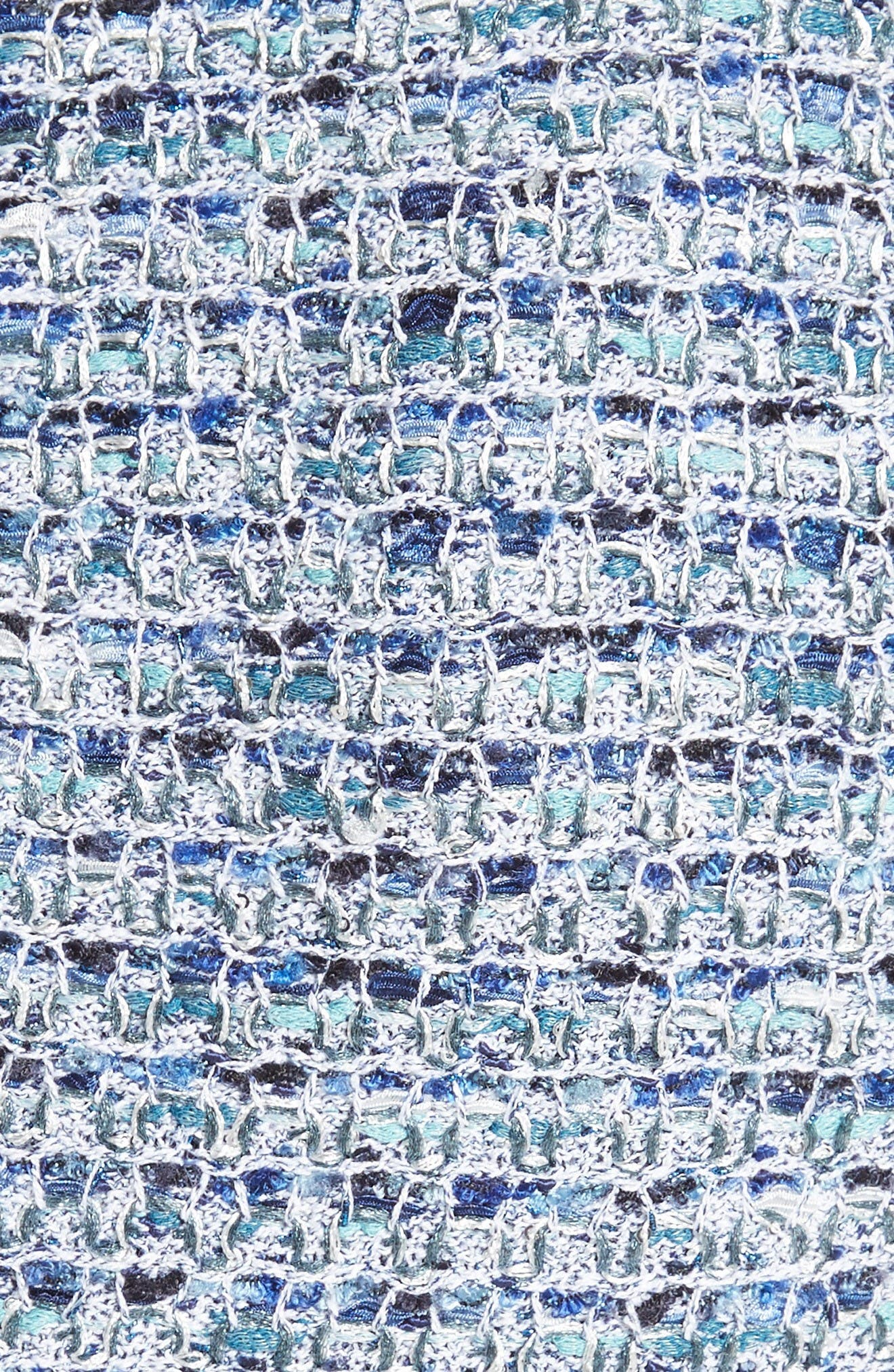 Alternate Image 5  - St. John Collection Kiara Tweed A-Line Dress