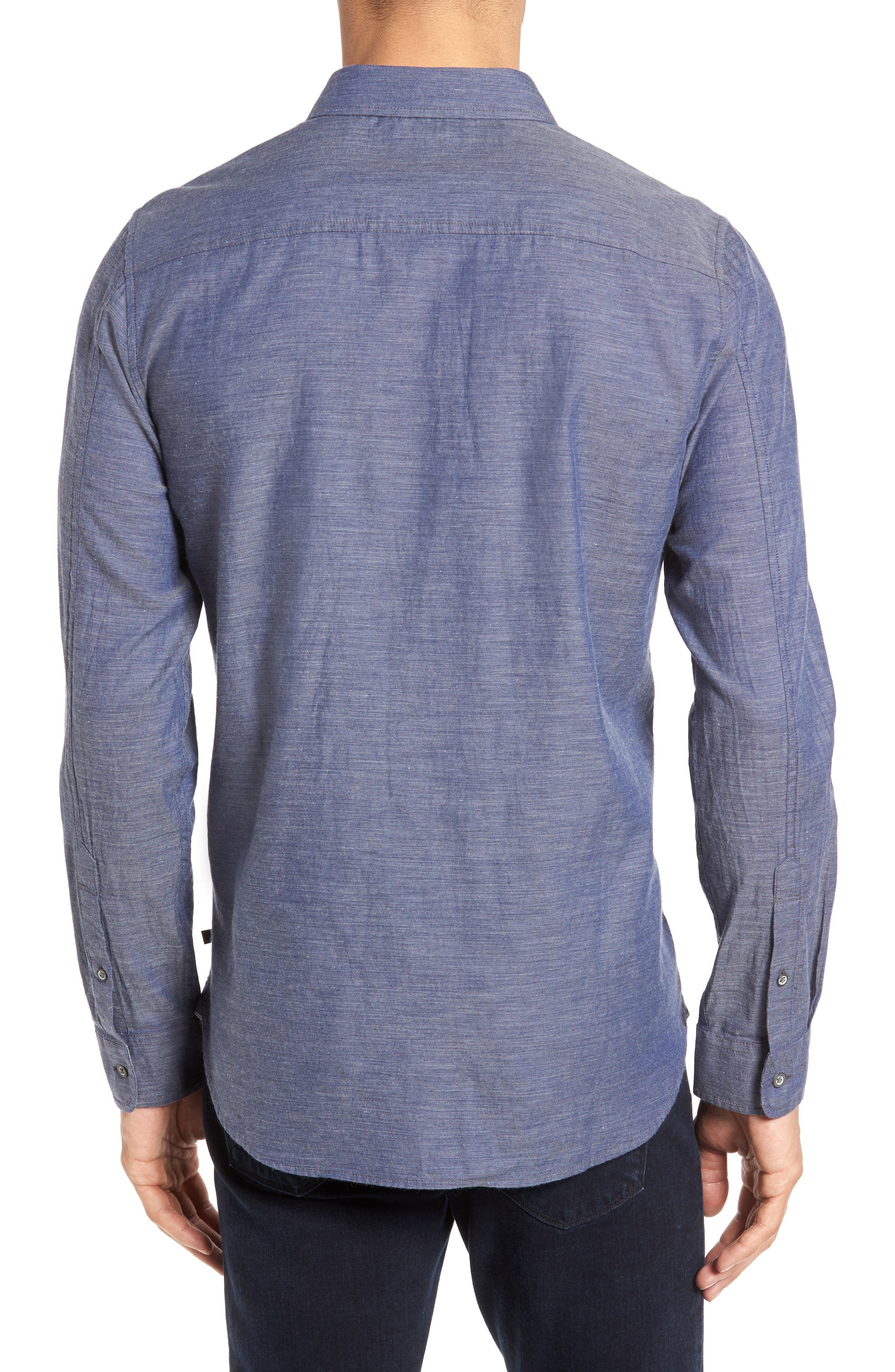 Alternate Image 2  - AG Colton Trim Fit Sport Shirt