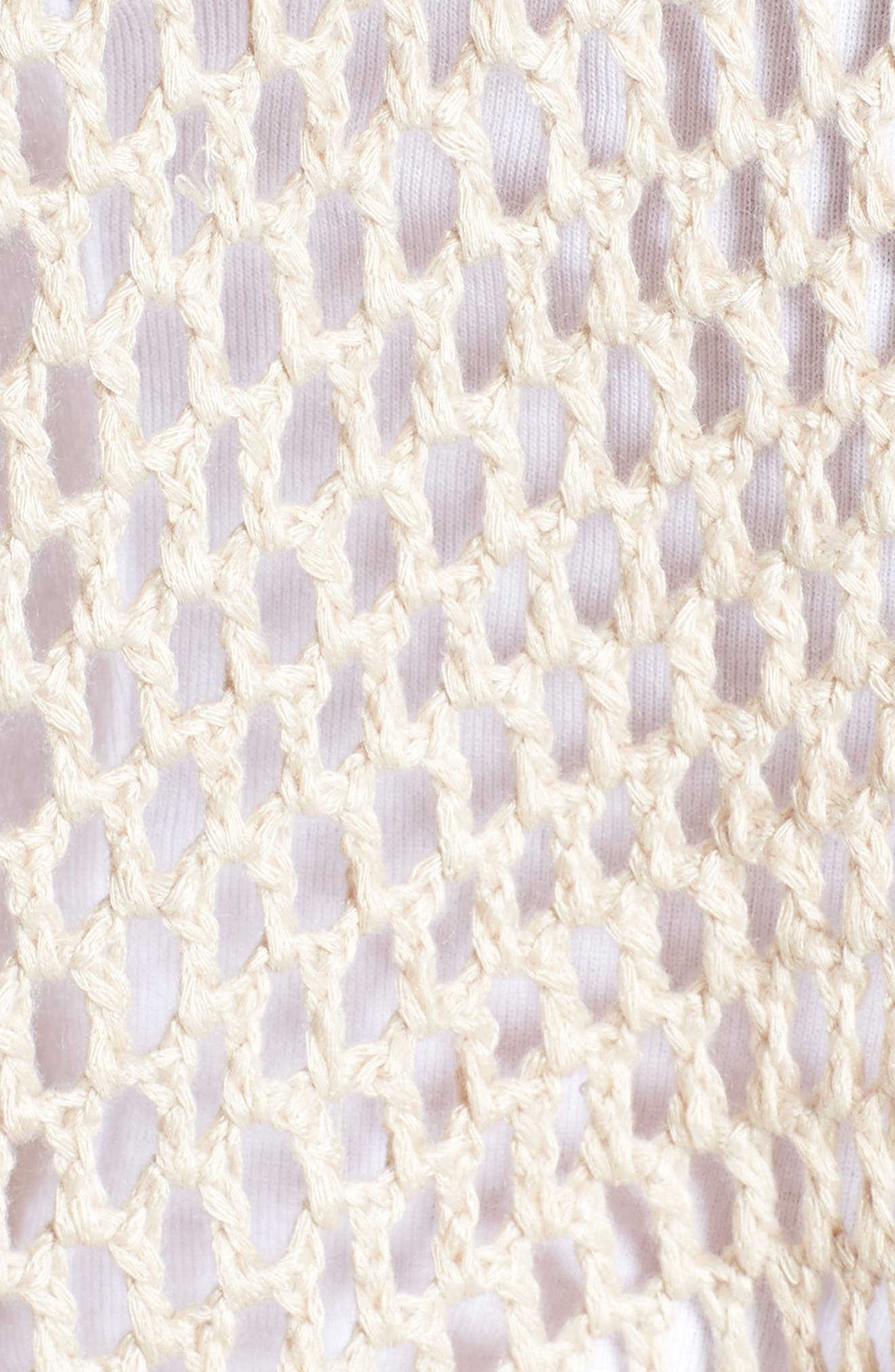 Alternate Image 6  - Somedays Lovin Crochet Kimono