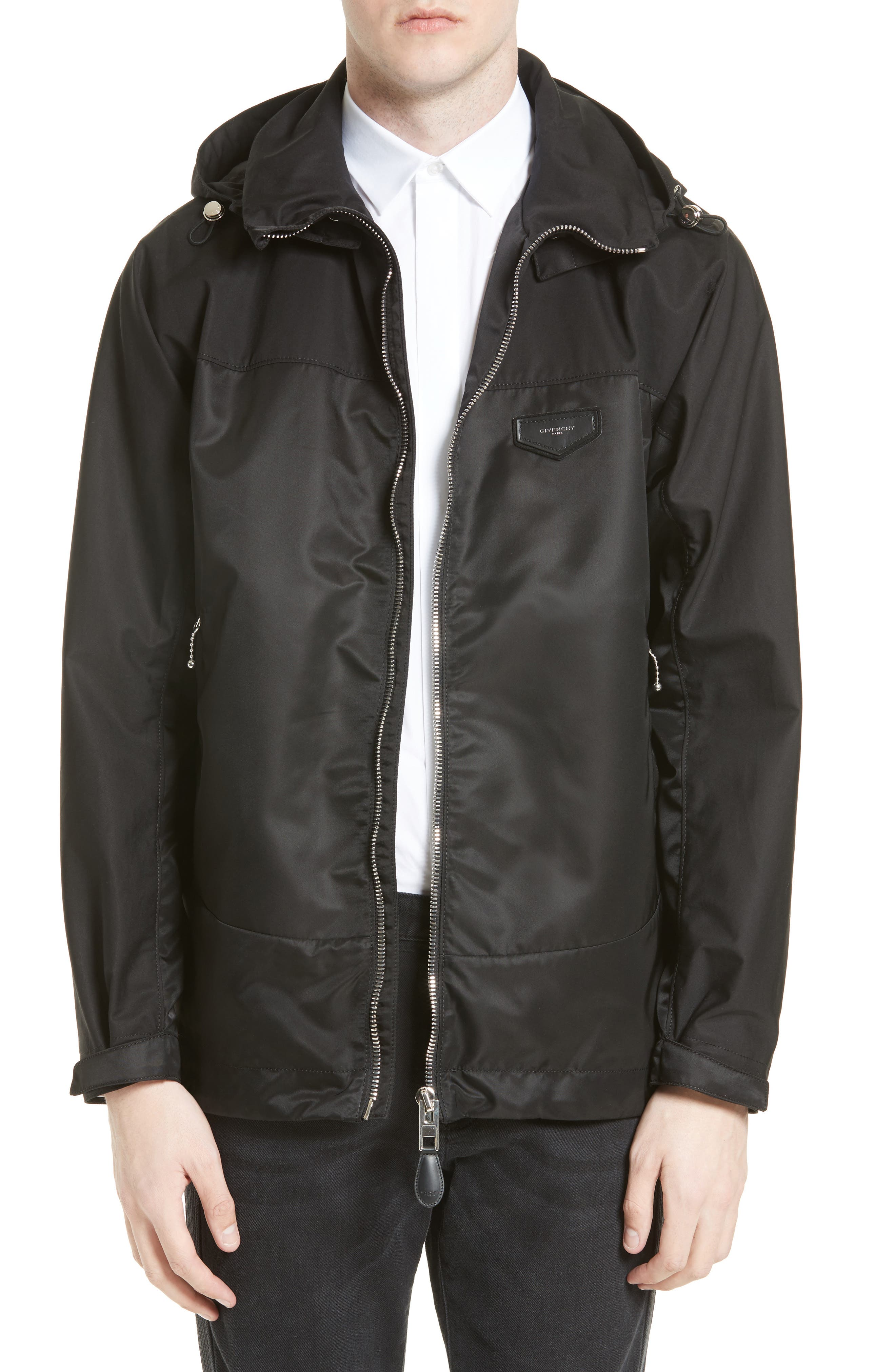 Alternate Image 1 Selected - Givenchy Technical Cotton Windbreaker