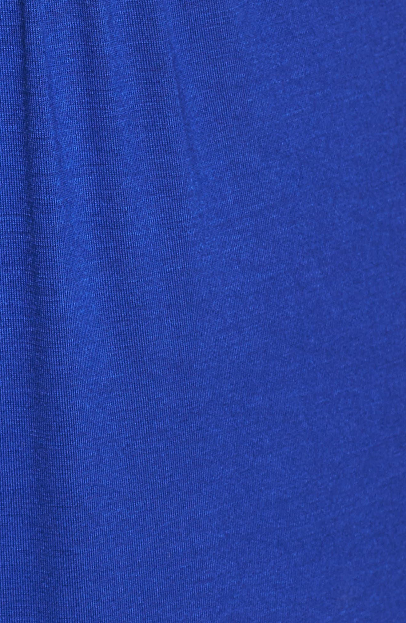 Alternate Image 5  - Loveappella Surplice Maxi Dress (Plus Size)