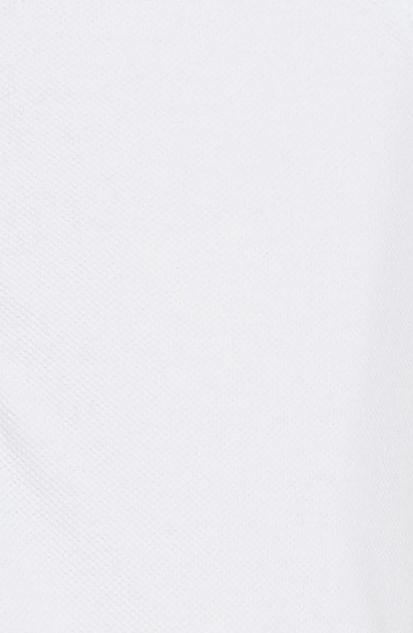 Mini Cali Polo Dress,                             Alternate thumbnail 3, color,                             White