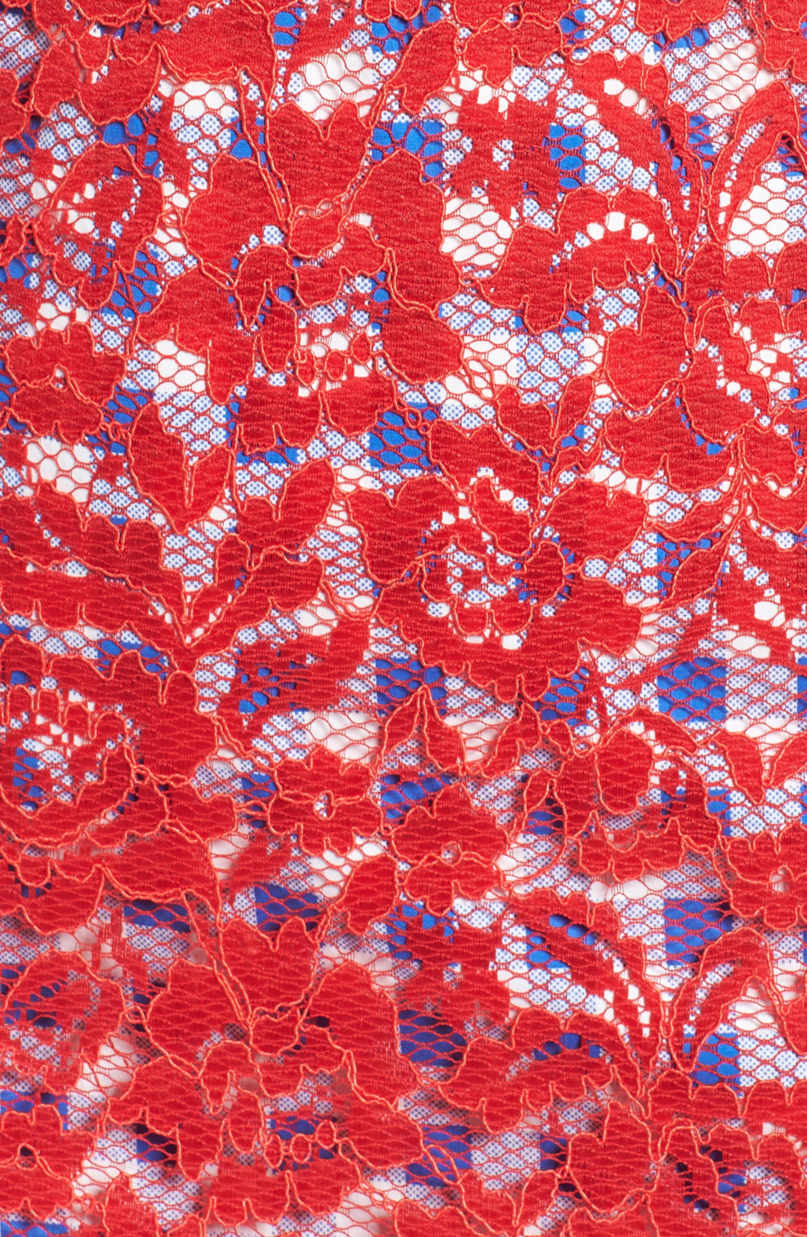 Alternate Image 5  - Maggy London Lace Midi Dress