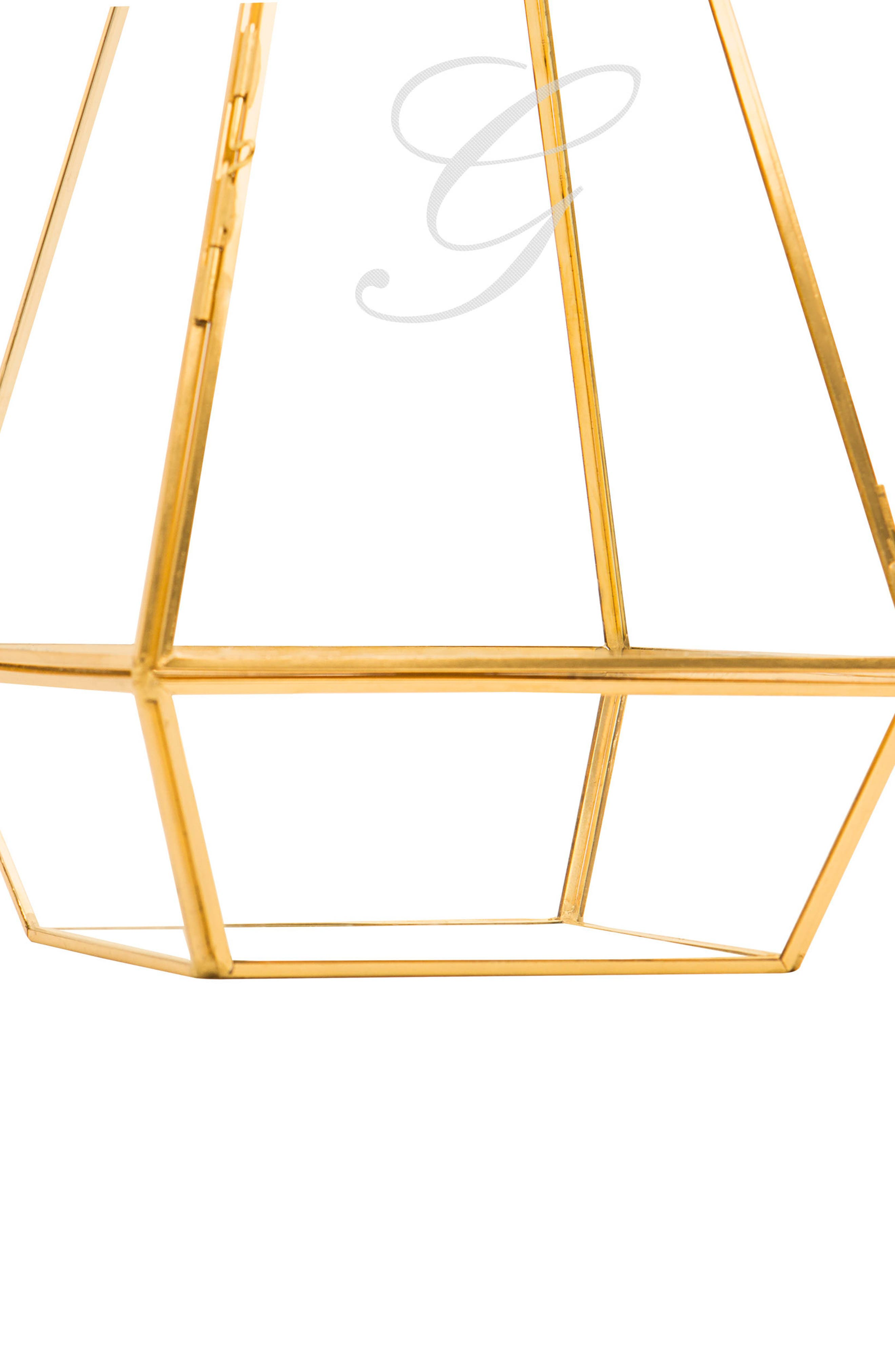 Alternate Image 8  - Cathy's Concepts Monogram Unity Lantern