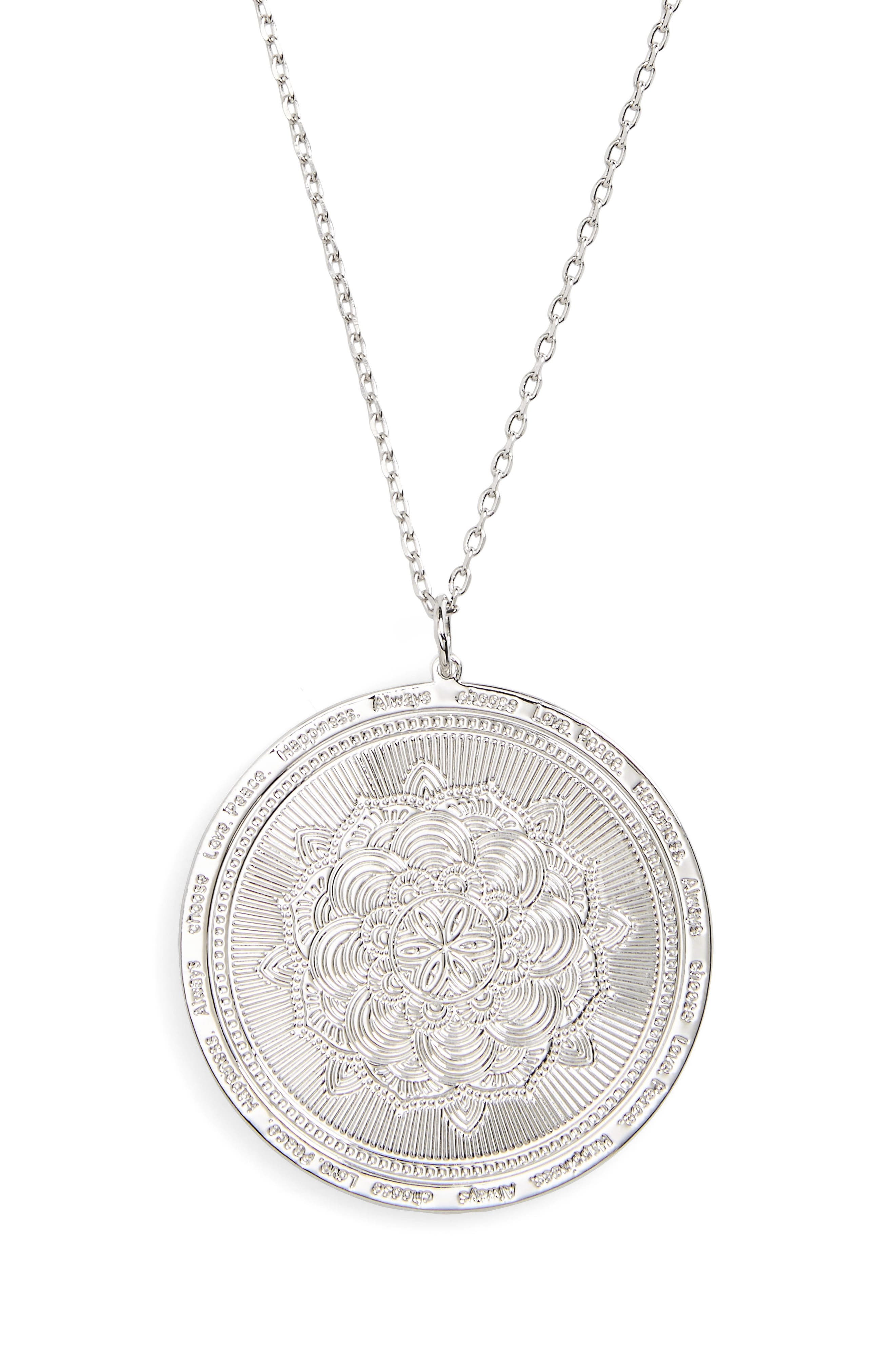 Main Image - lulu dk Always Choose Love Pendant Necklace