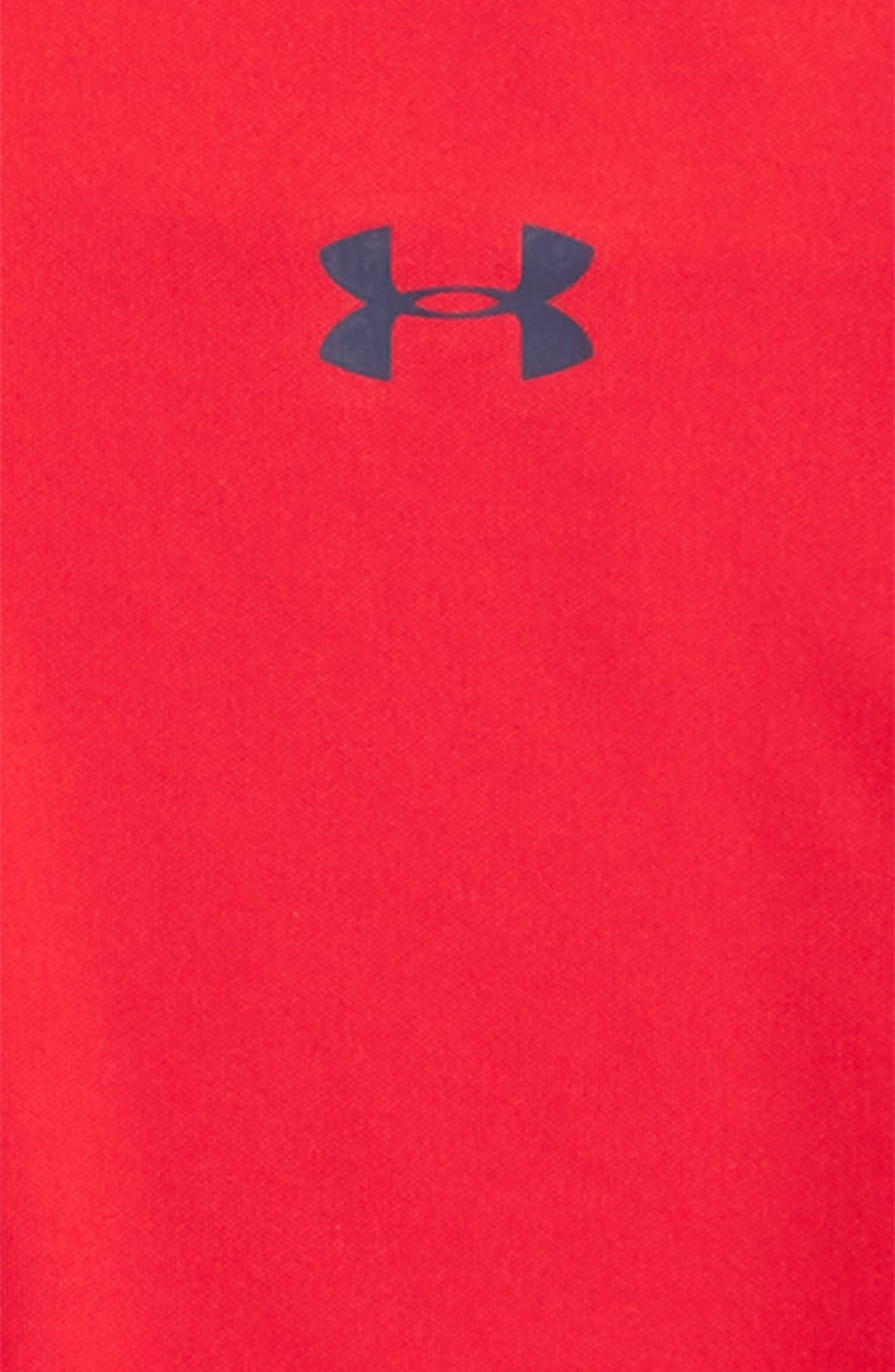 Performance HeatGear<sup>®</sup> Polo,                             Alternate thumbnail 2, color,                             Red/ Academy