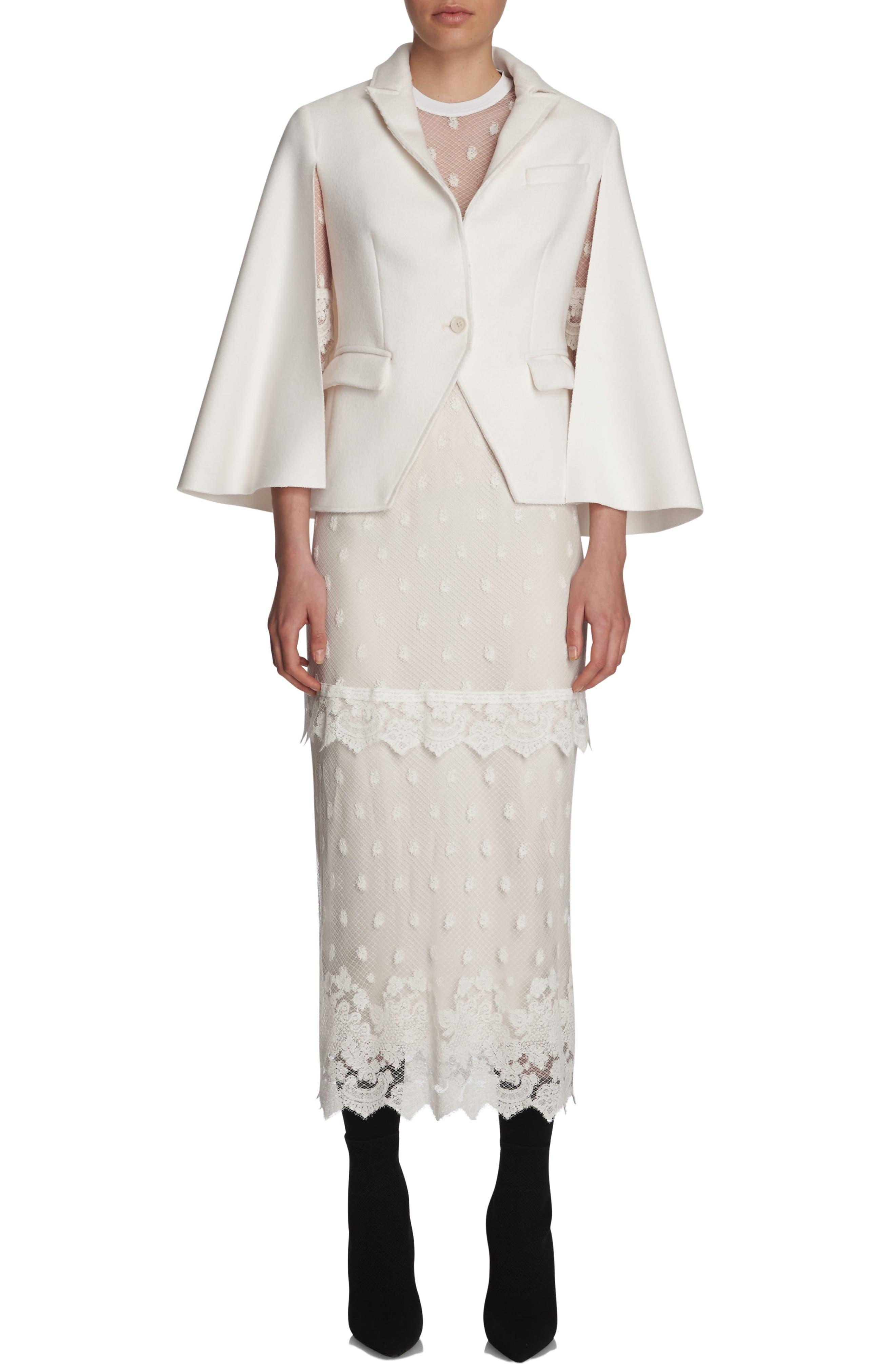 Alternate Image 5  - Burberry Lace Midi Dress