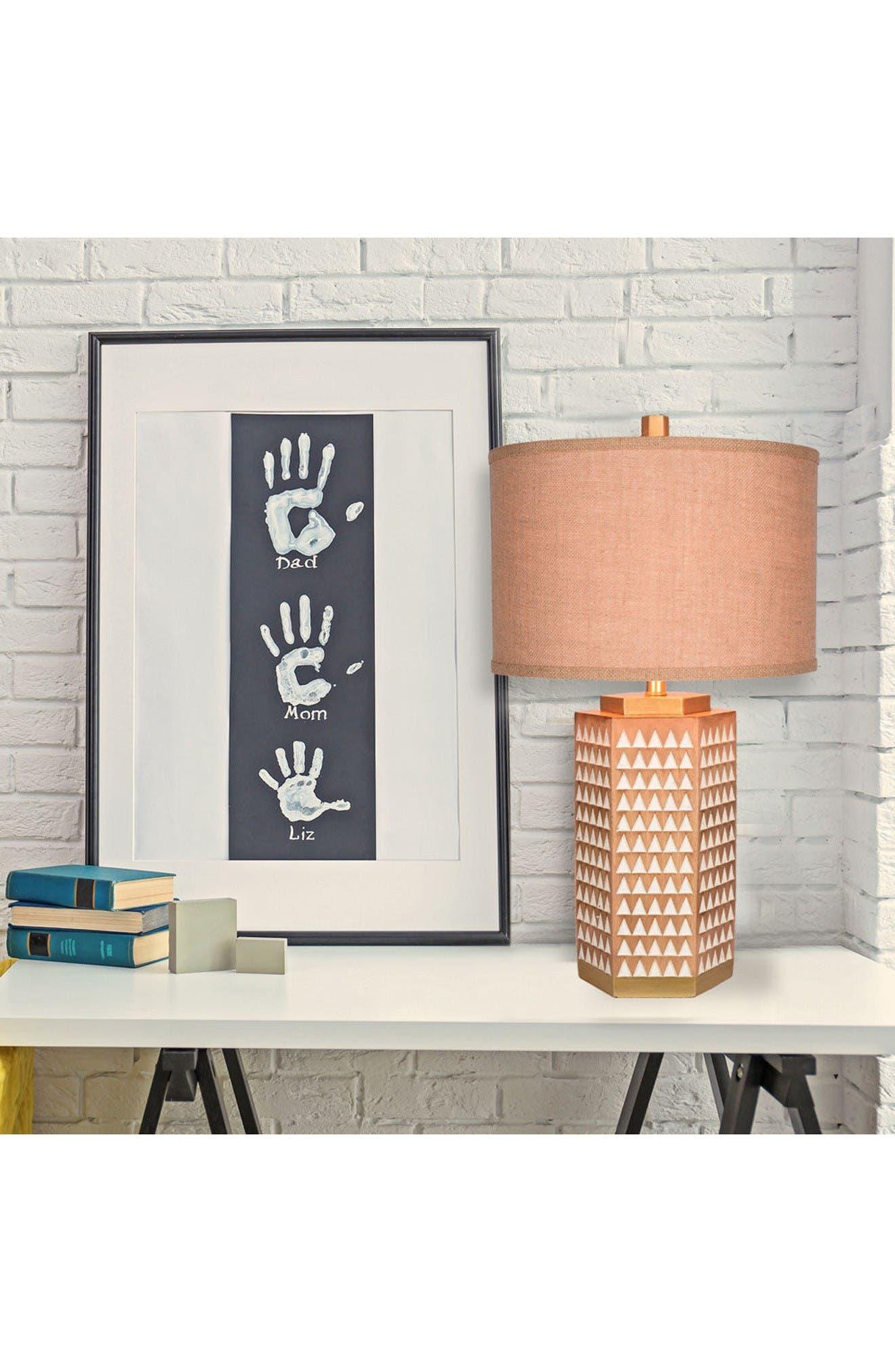 Alternate Image 2  - JAlexander Kinsley Faux Wood Table Lamp