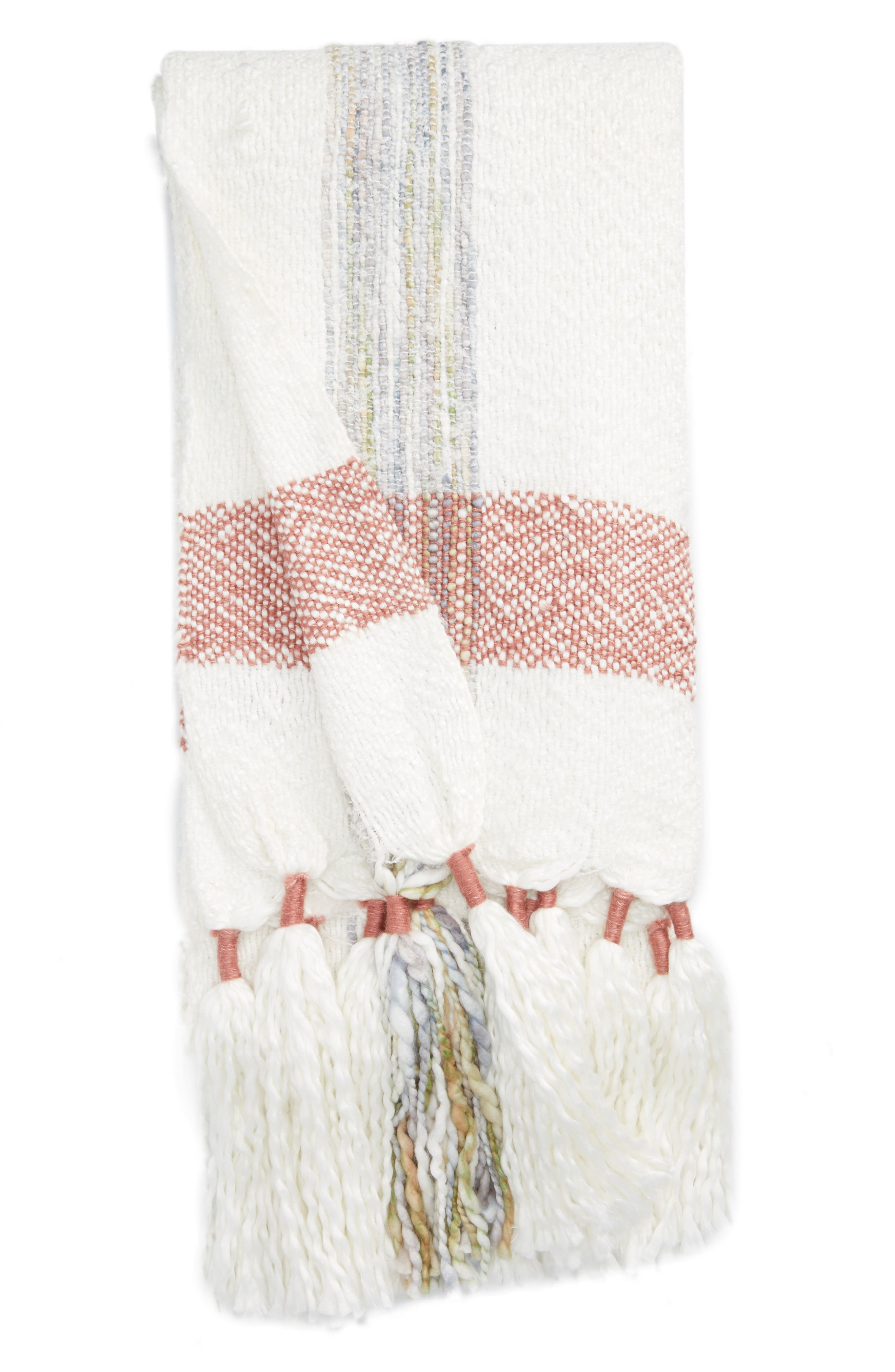 Main Image - Nordstrom at Home Tassel Throw