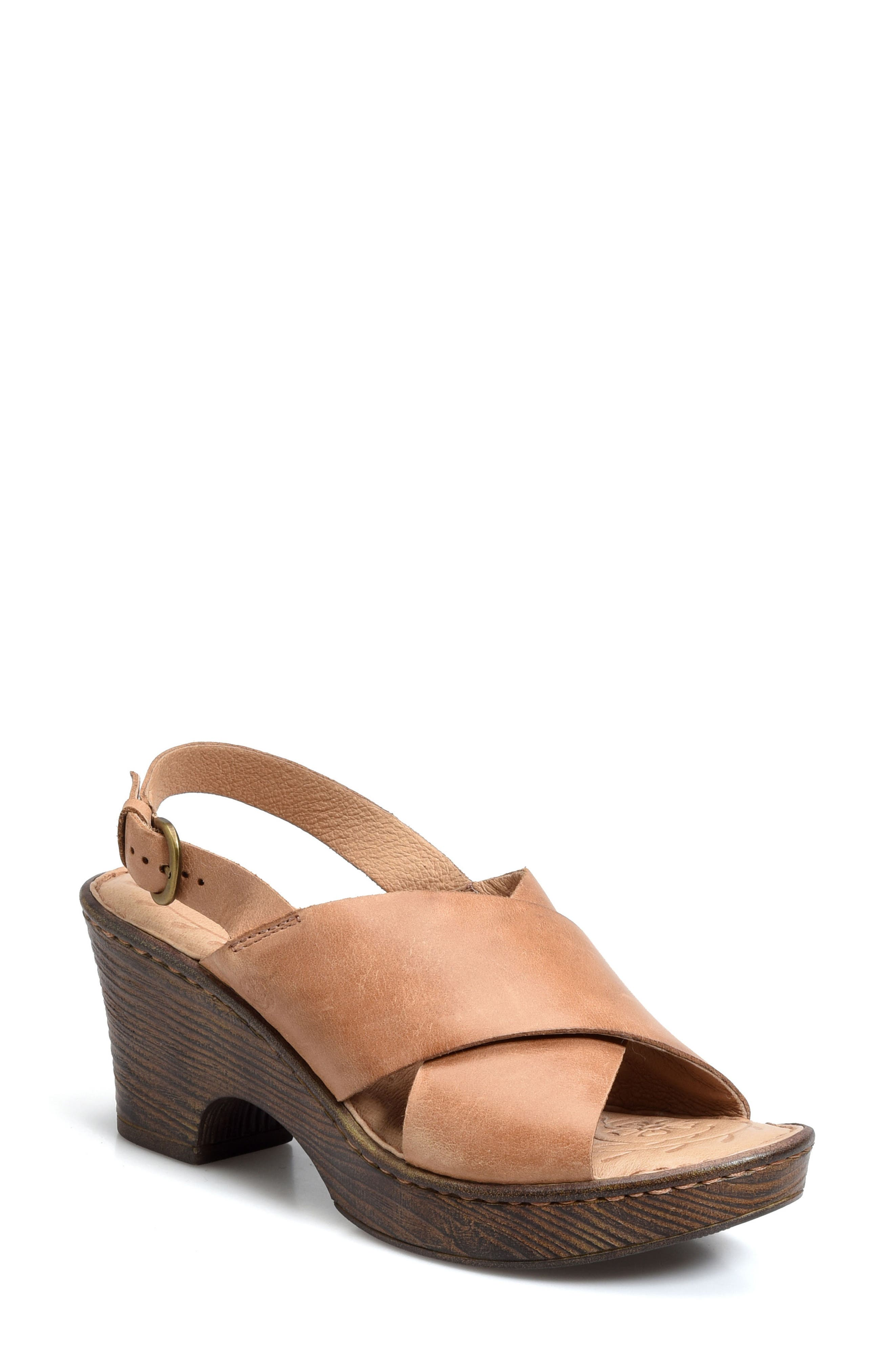 Børn Coralyn Platform Sandal (Women)