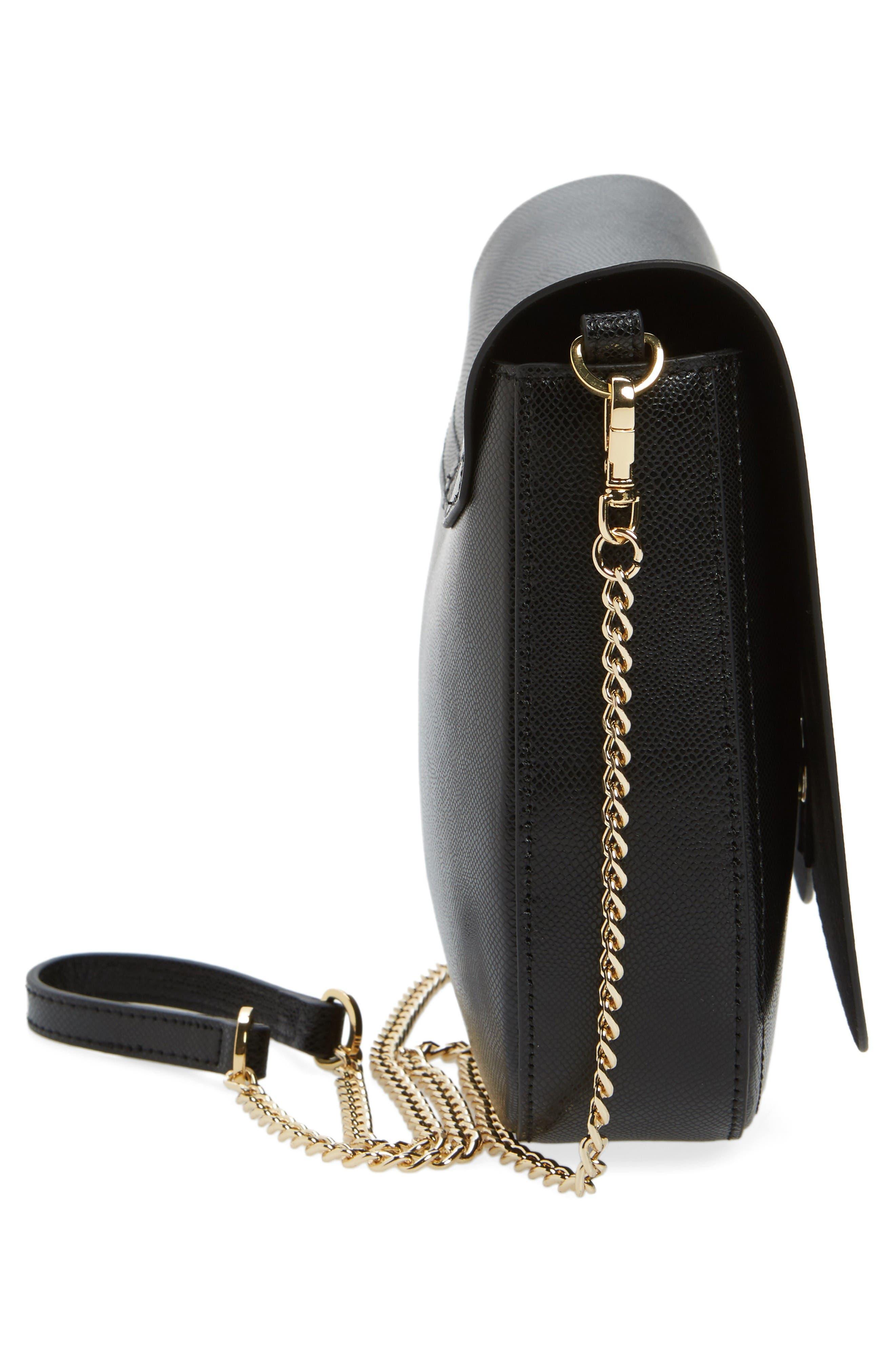 Alternate Image 5  - Ted Baker London Cat Leather Crossbody Bag