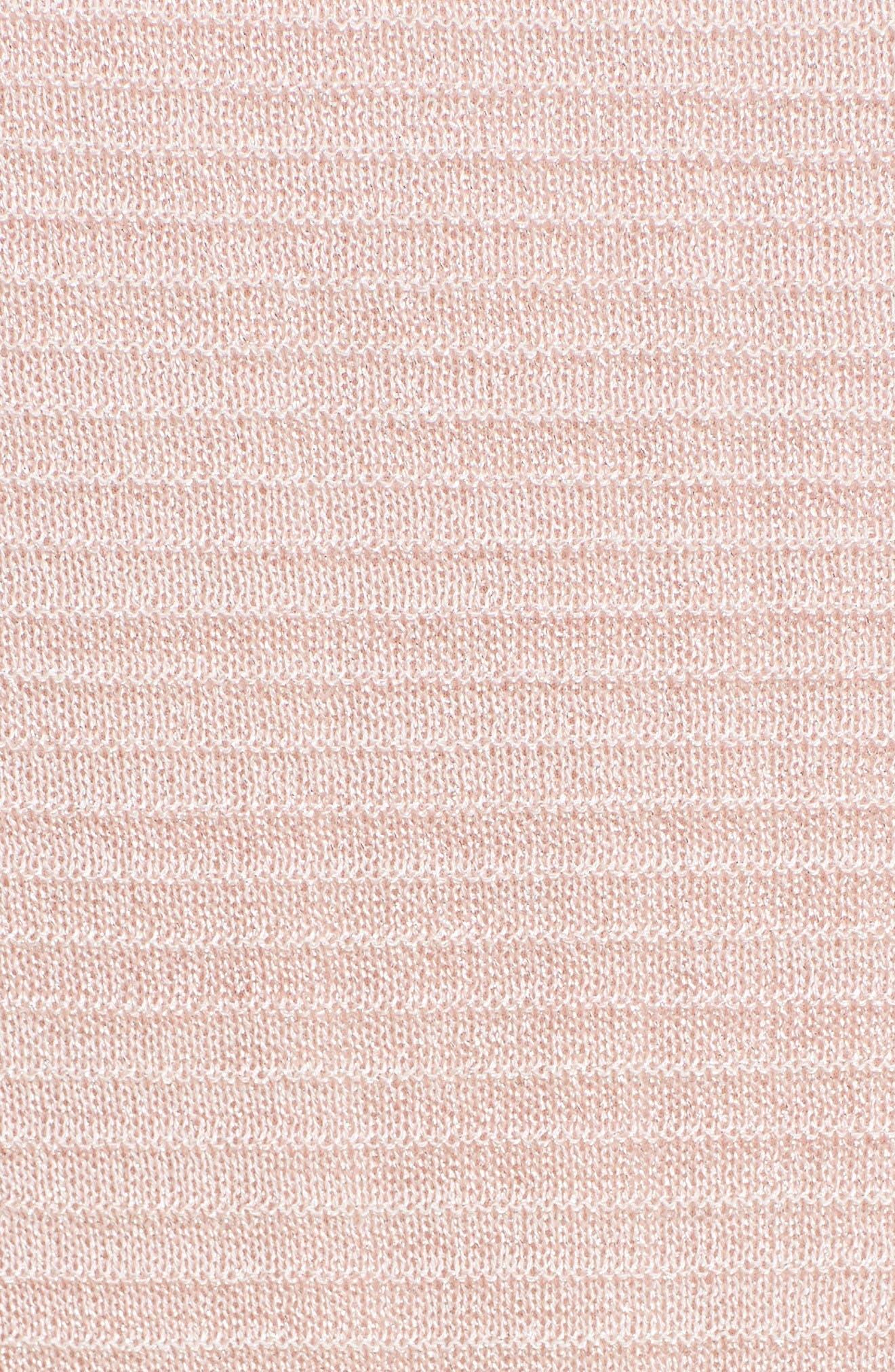 Alternate Image 5  - M Missoni Ruffle Metallic Mouline Knit Dress