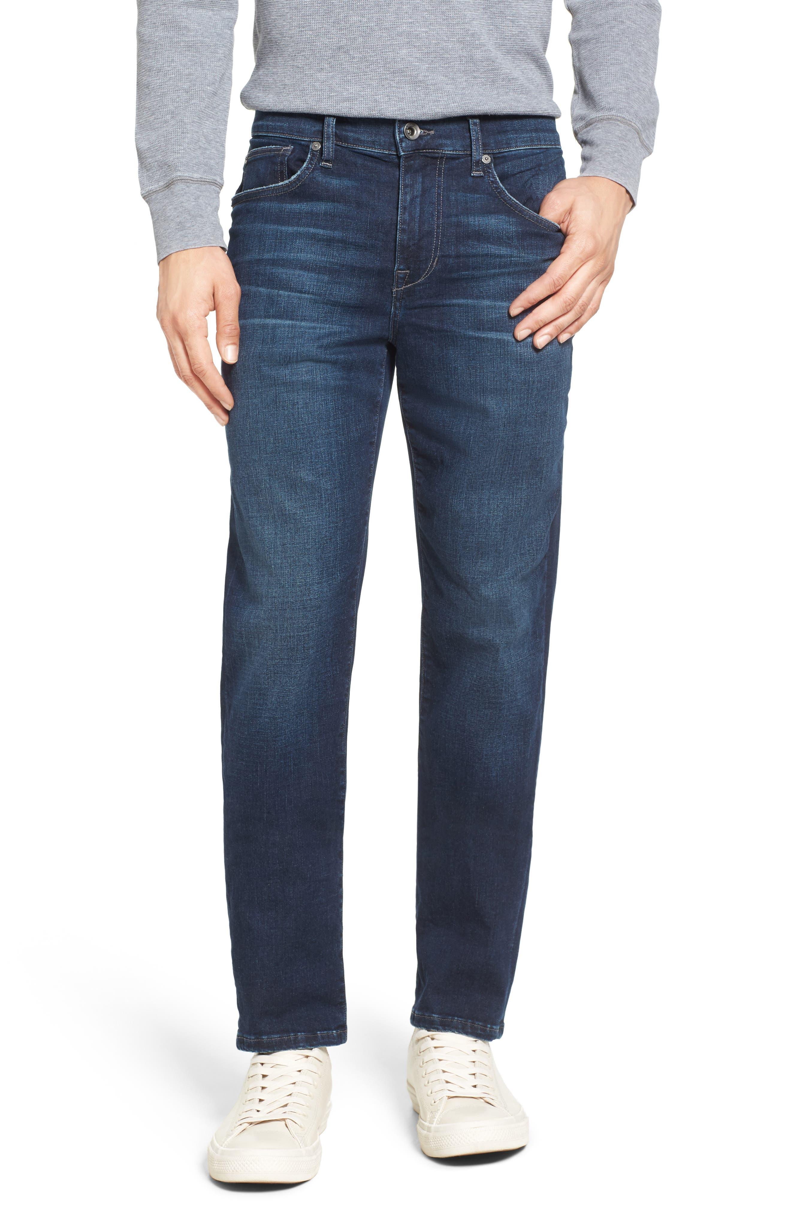 Kinetic Slim Fit Jeans,                             Main thumbnail 1, color,                             Aedan
