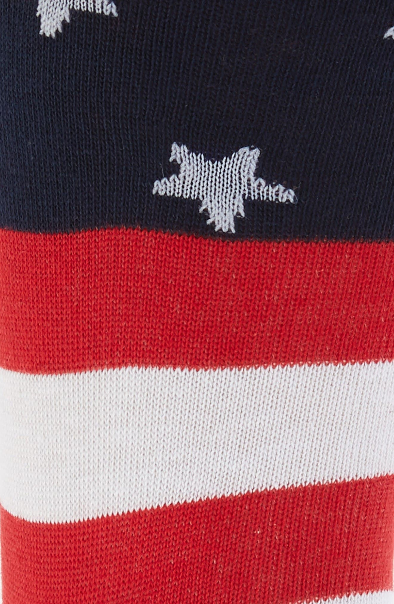 Alternate Image 2  - Lorenzo Uomo Americana Crew Socks (3 for $30)