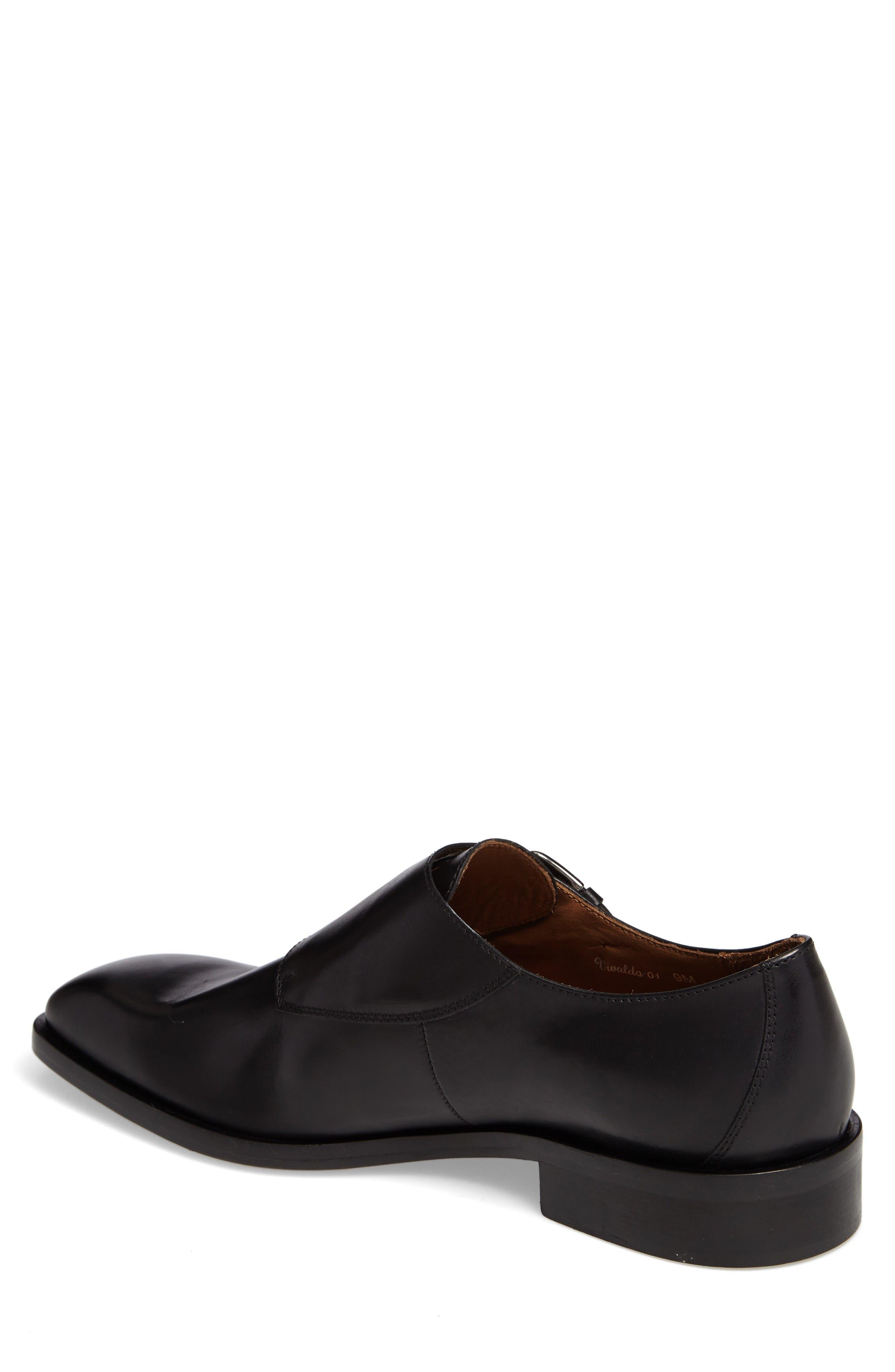 Vivaldo Venetian Loafer,                             Alternate thumbnail 2, color,                             Black Leather