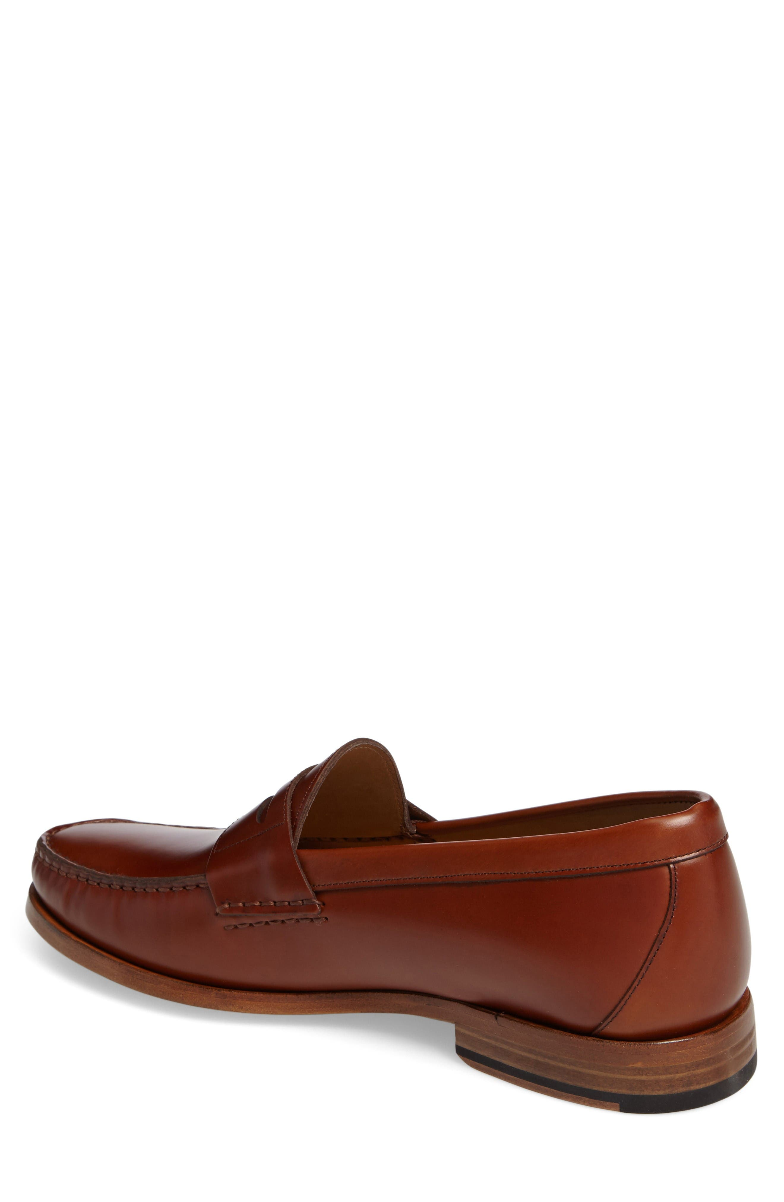 Charlie Penny Loafer,                             Alternate thumbnail 2, color,                             Cognac Leather