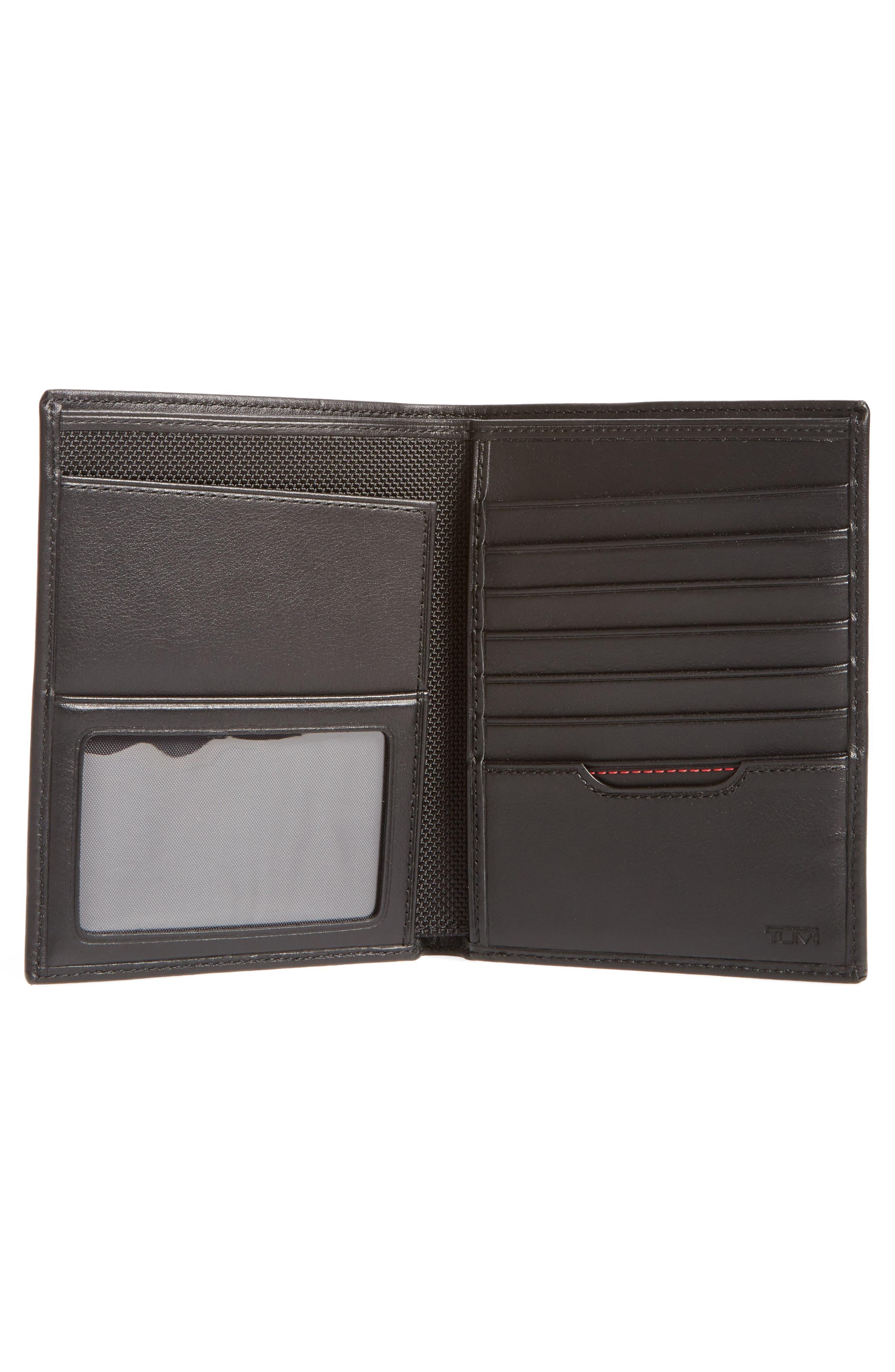 Delta Passport Case,                             Alternate thumbnail 2, color,                             Black