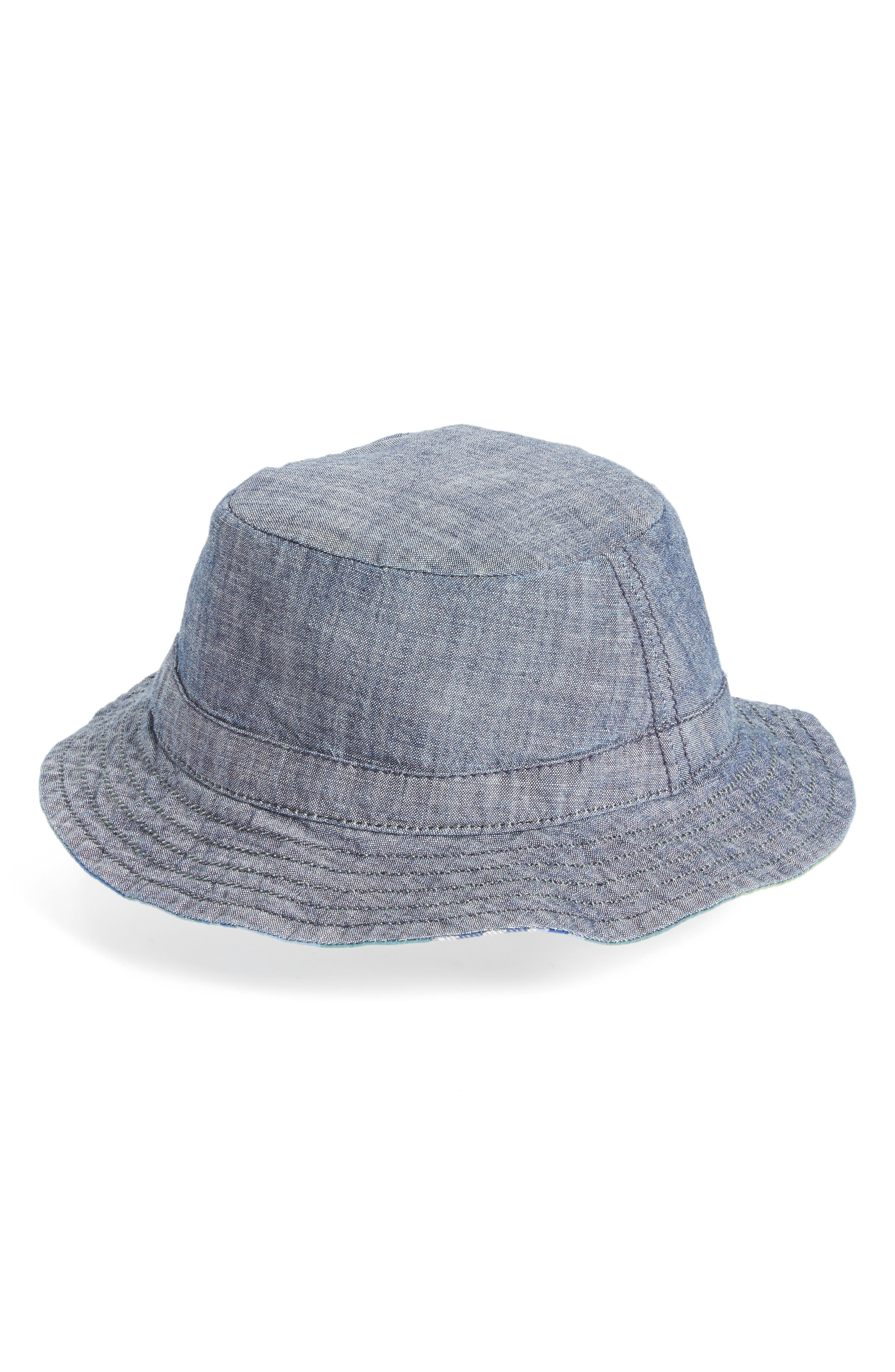Alternate Image 2  - Tucker + Tate Reversible Bucket Hat (Baby Boys)