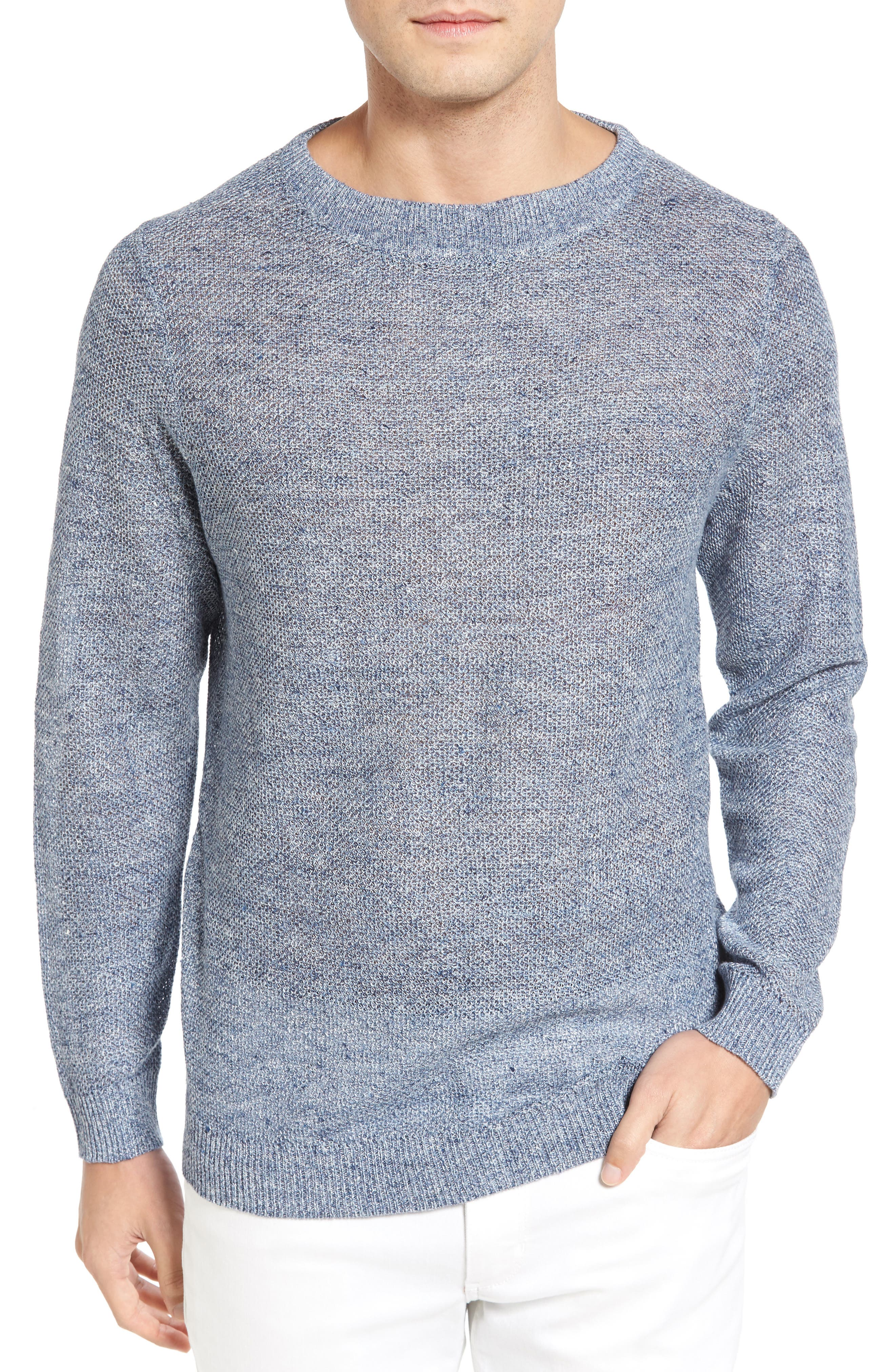 Main Image - Tommy Bahama Lino Bay Linen Sweater