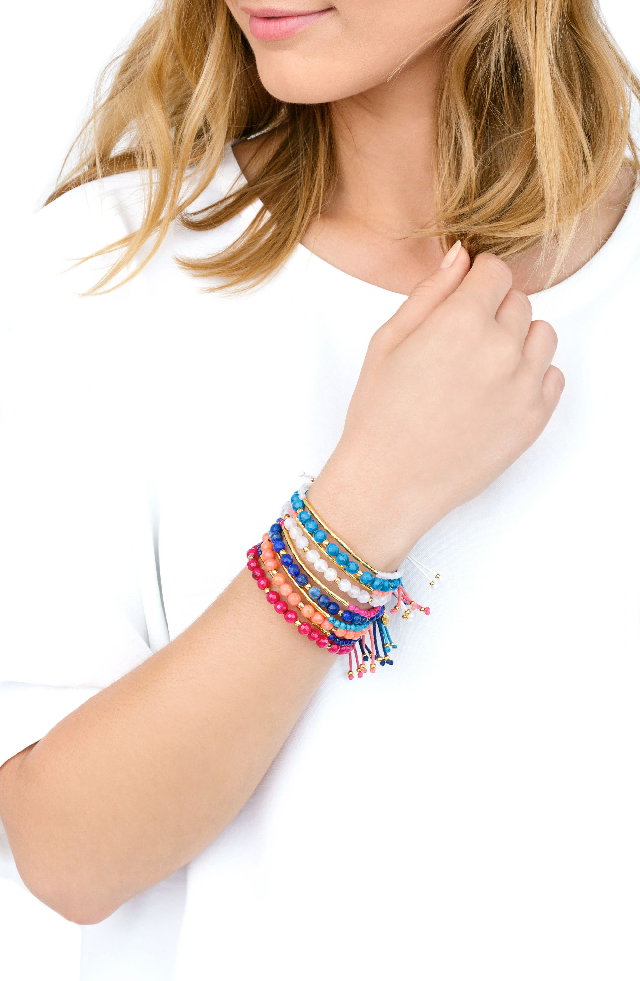 Alternate Image 4  - gorjana Power Gemstone Beaded Bracelet